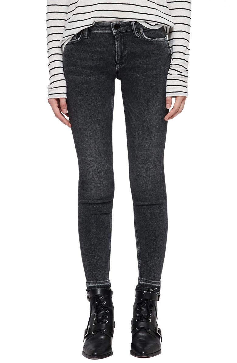 Allsaints MAST ANKLE SKINNY JEANS