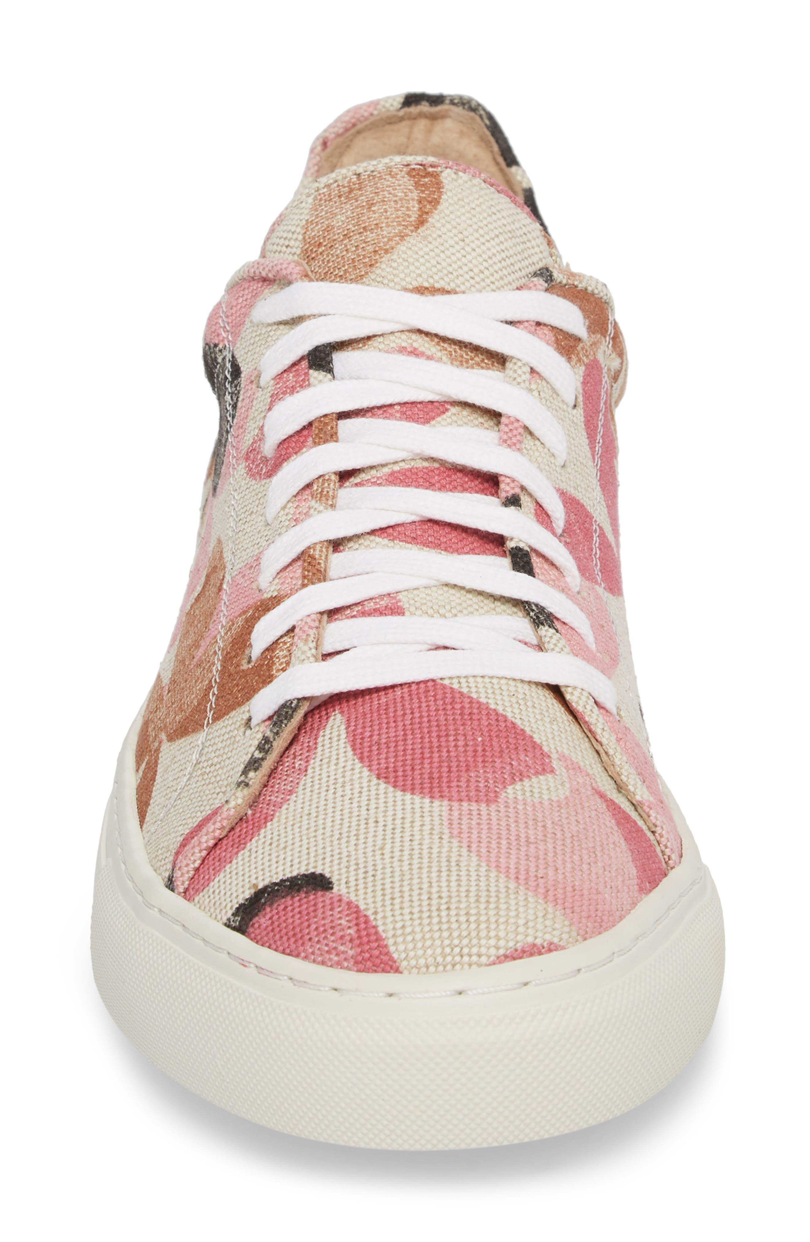 Mason Print Low Top Sneaker,                             Alternate thumbnail 16, color,