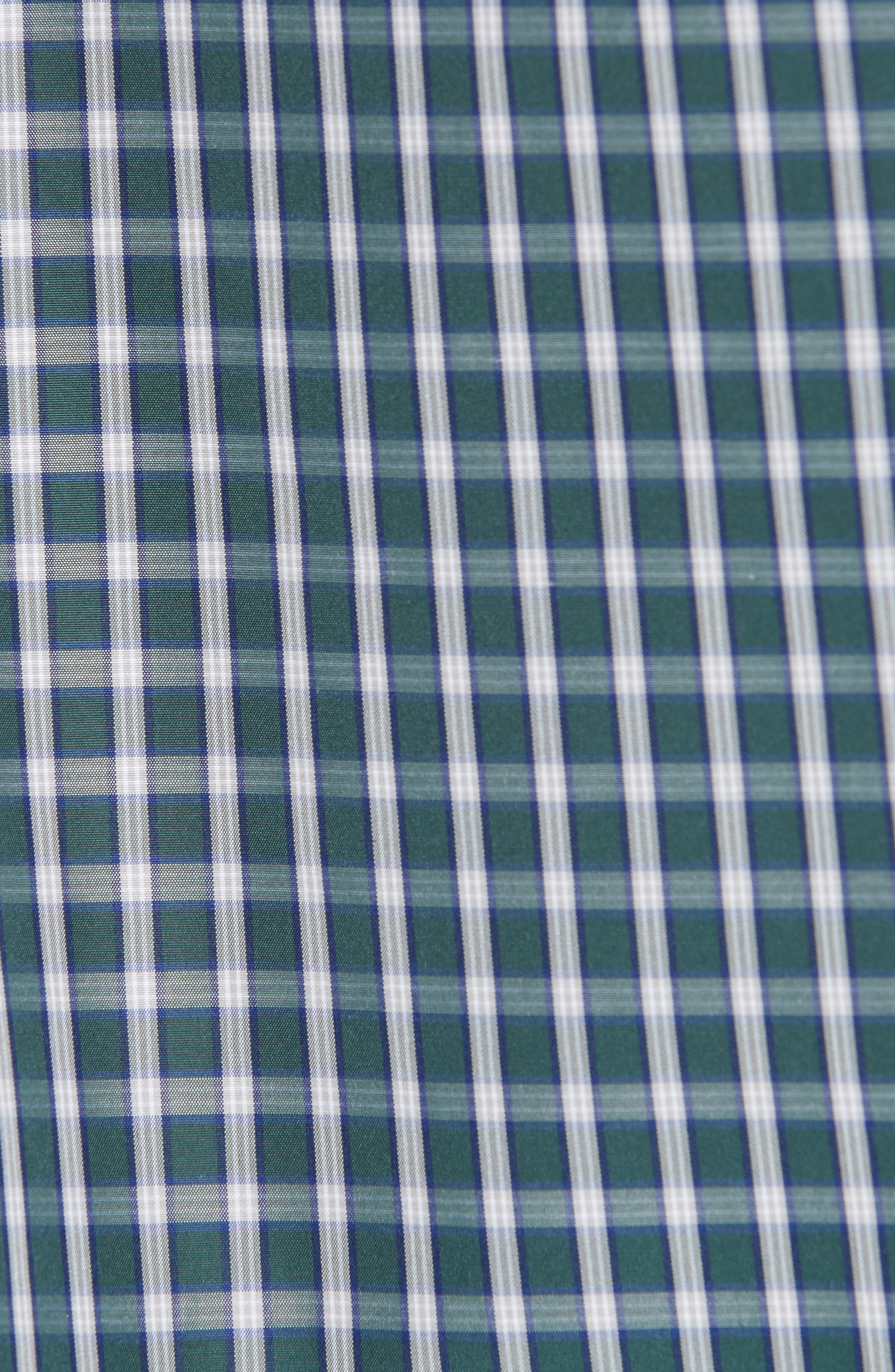 Flyer Shirt,                             Alternate thumbnail 5, color,                             GREEN CHECK