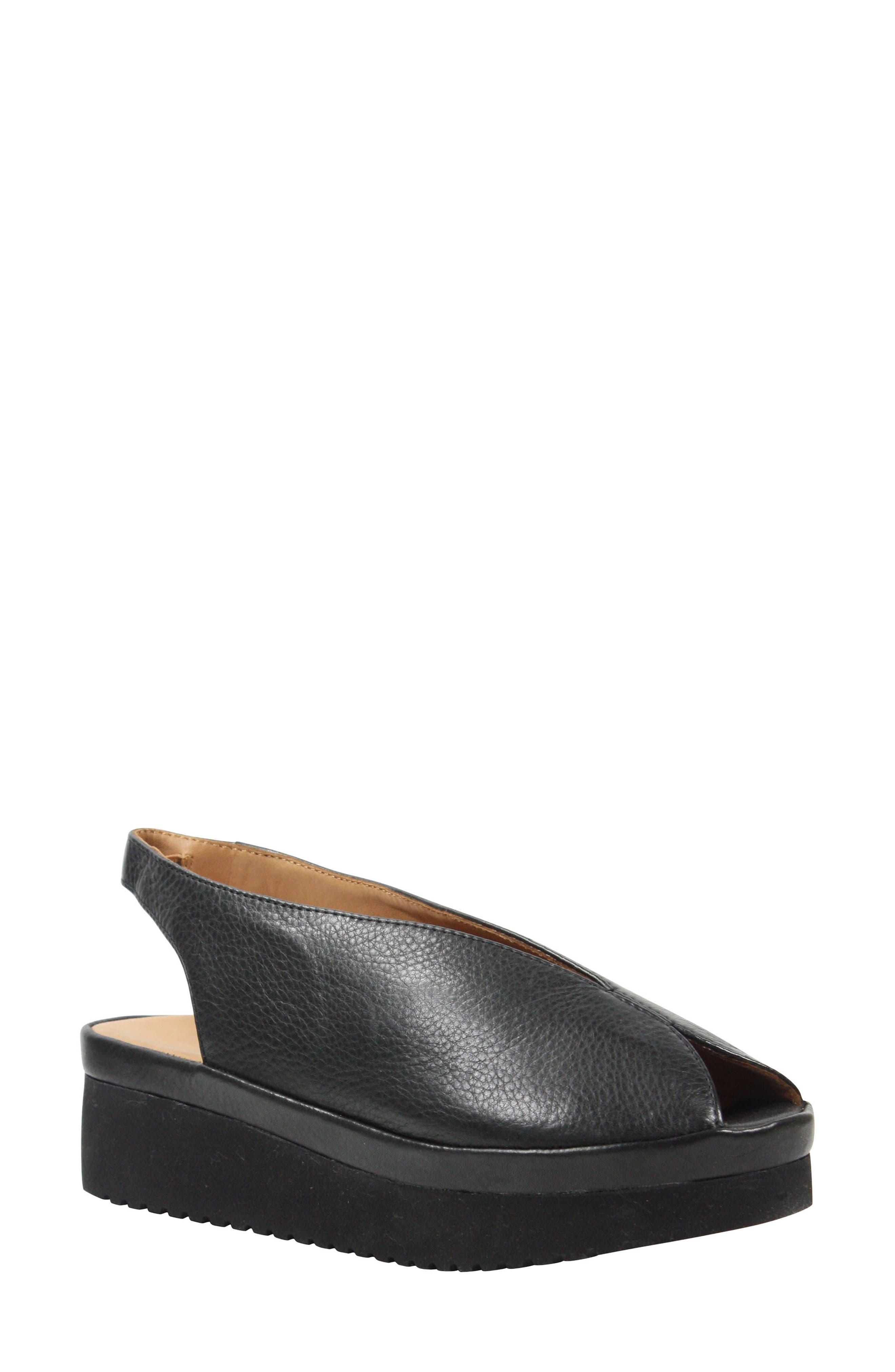 L'AMOUR DES PIEDS Ahndray Slingback Sandal, Main, color, 001