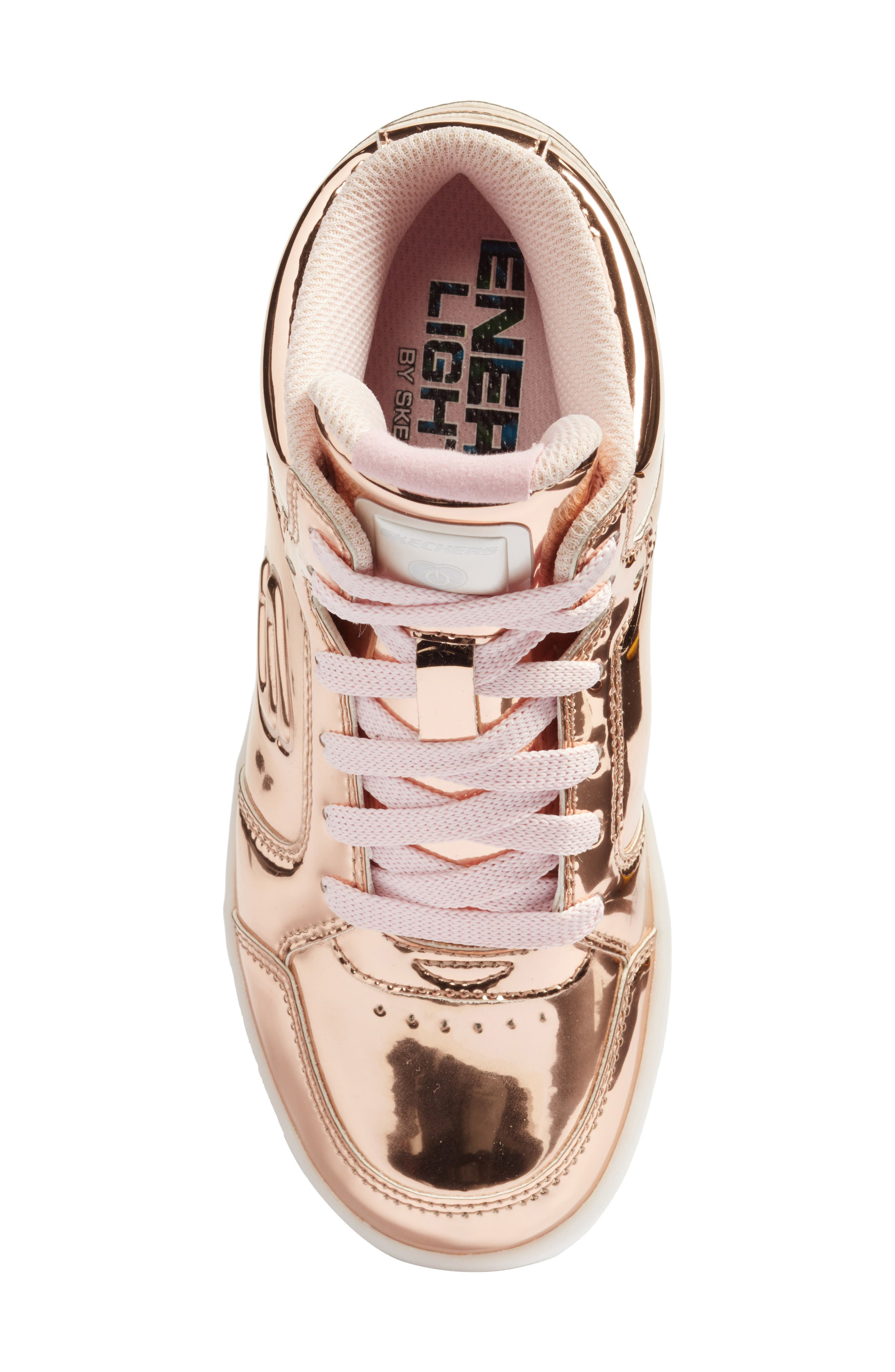 Energy Lights Metallic High Top Sneaker,                             Alternate thumbnail 16, color,
