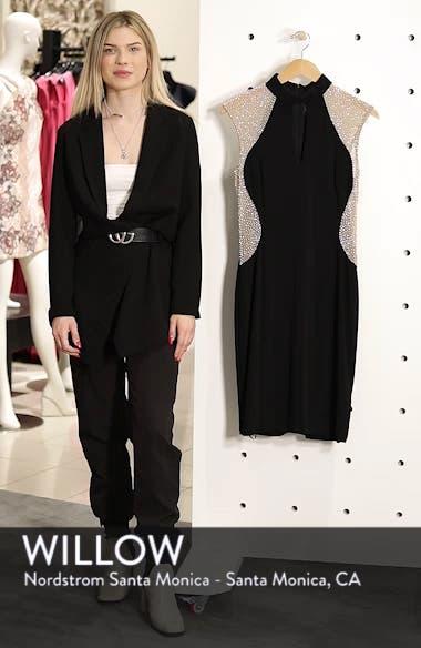Caviar Beaded Keyhole Dress, sales video thumbnail