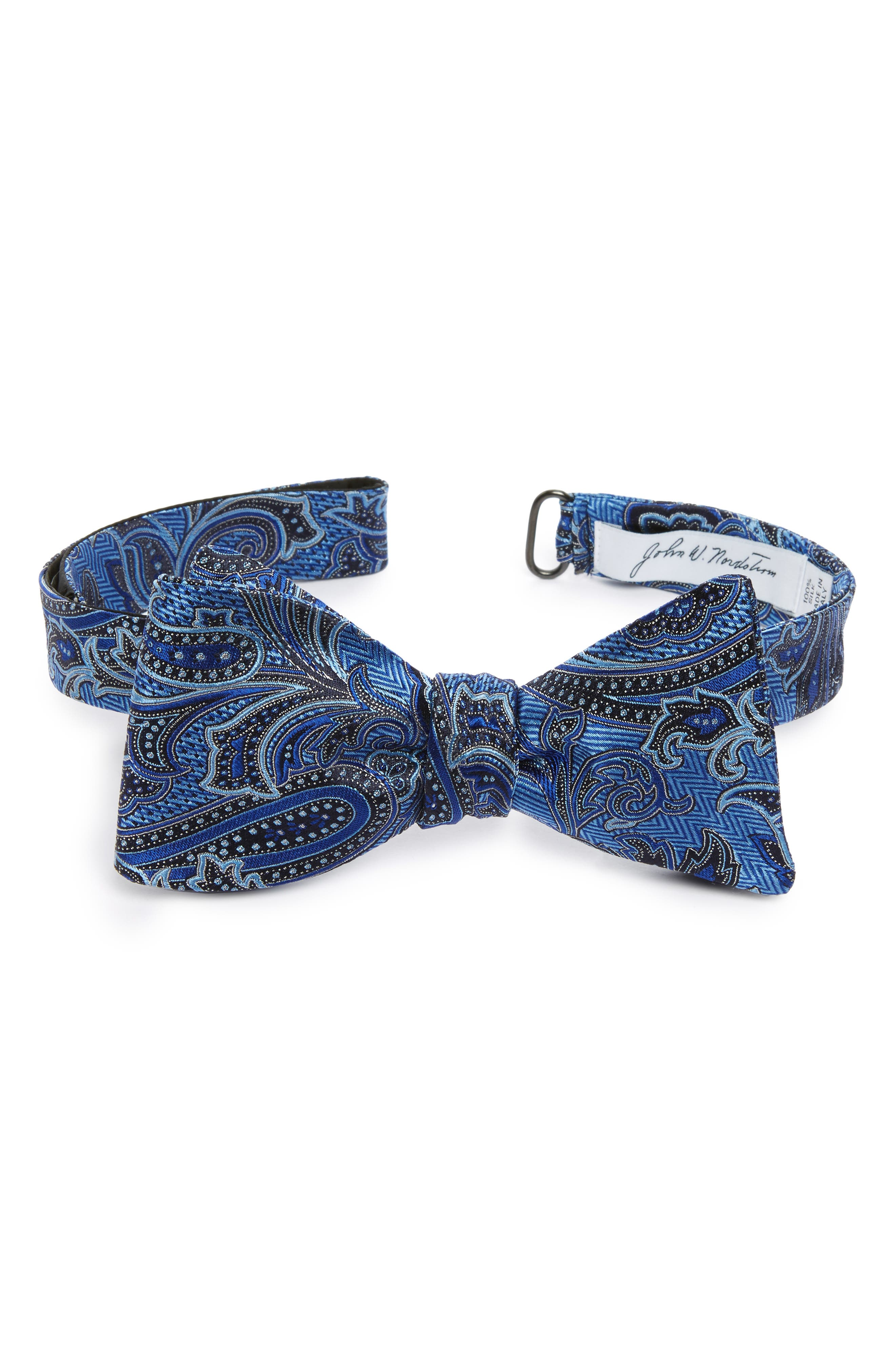 Paisley Silk Bow Tie,                         Main,                         color, 400