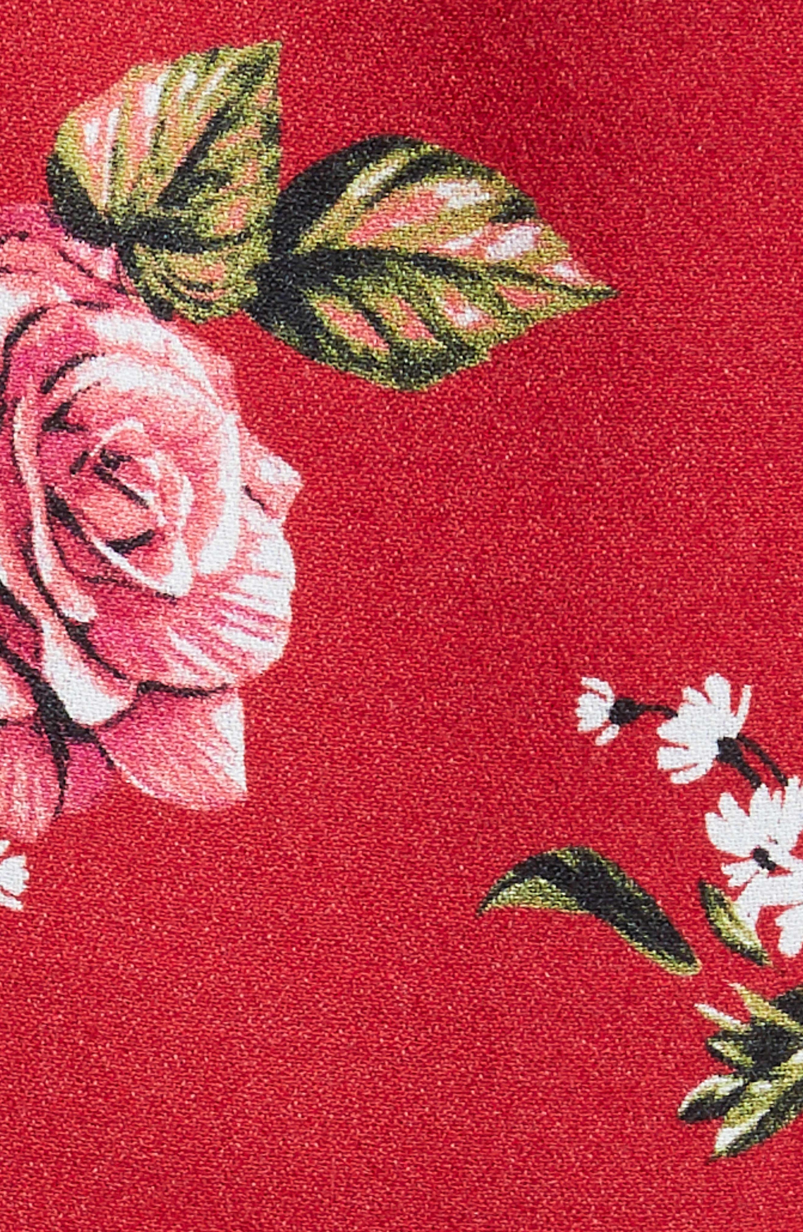 Gigi Blouse With Necktie,                             Alternate thumbnail 8, color,