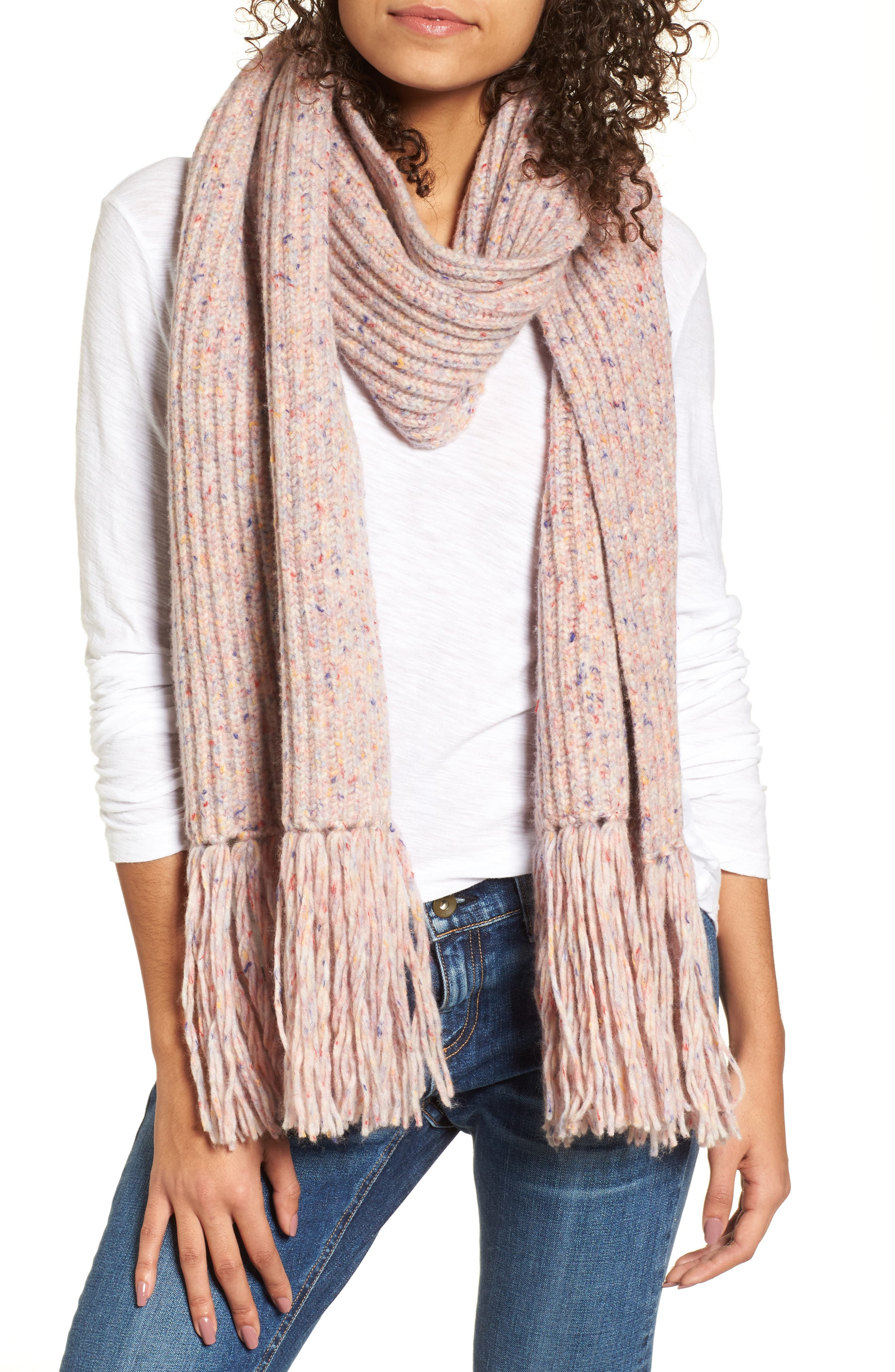 Devin Wool Blend Scarf,                         Main,                         color, 691