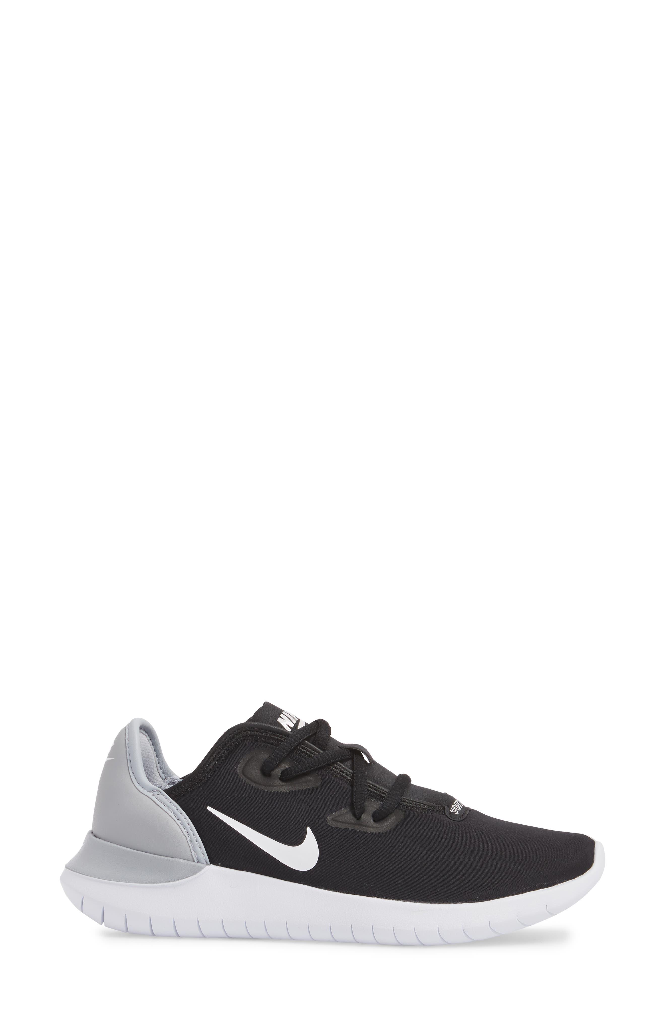 Hakata Sneaker,                             Alternate thumbnail 3, color,                             BLACK/ WHITE