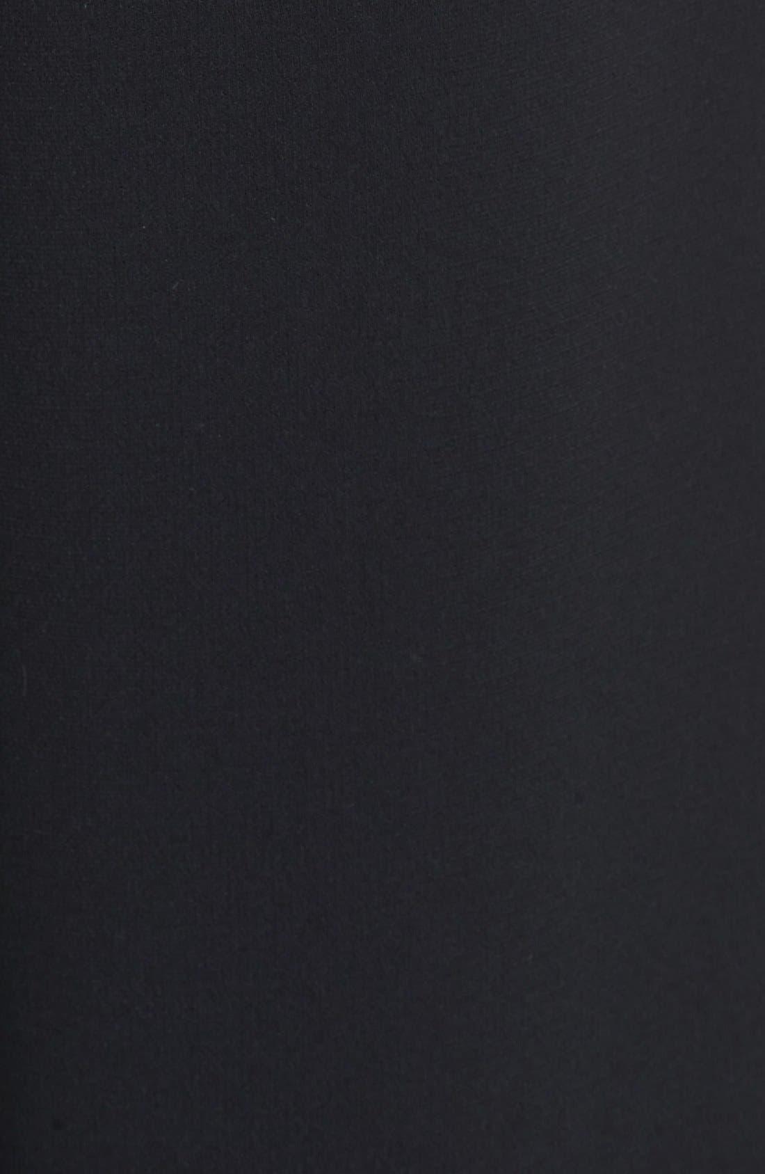 'Rowe' Pleat Crop Pants,                             Alternate thumbnail 7, color,                             001