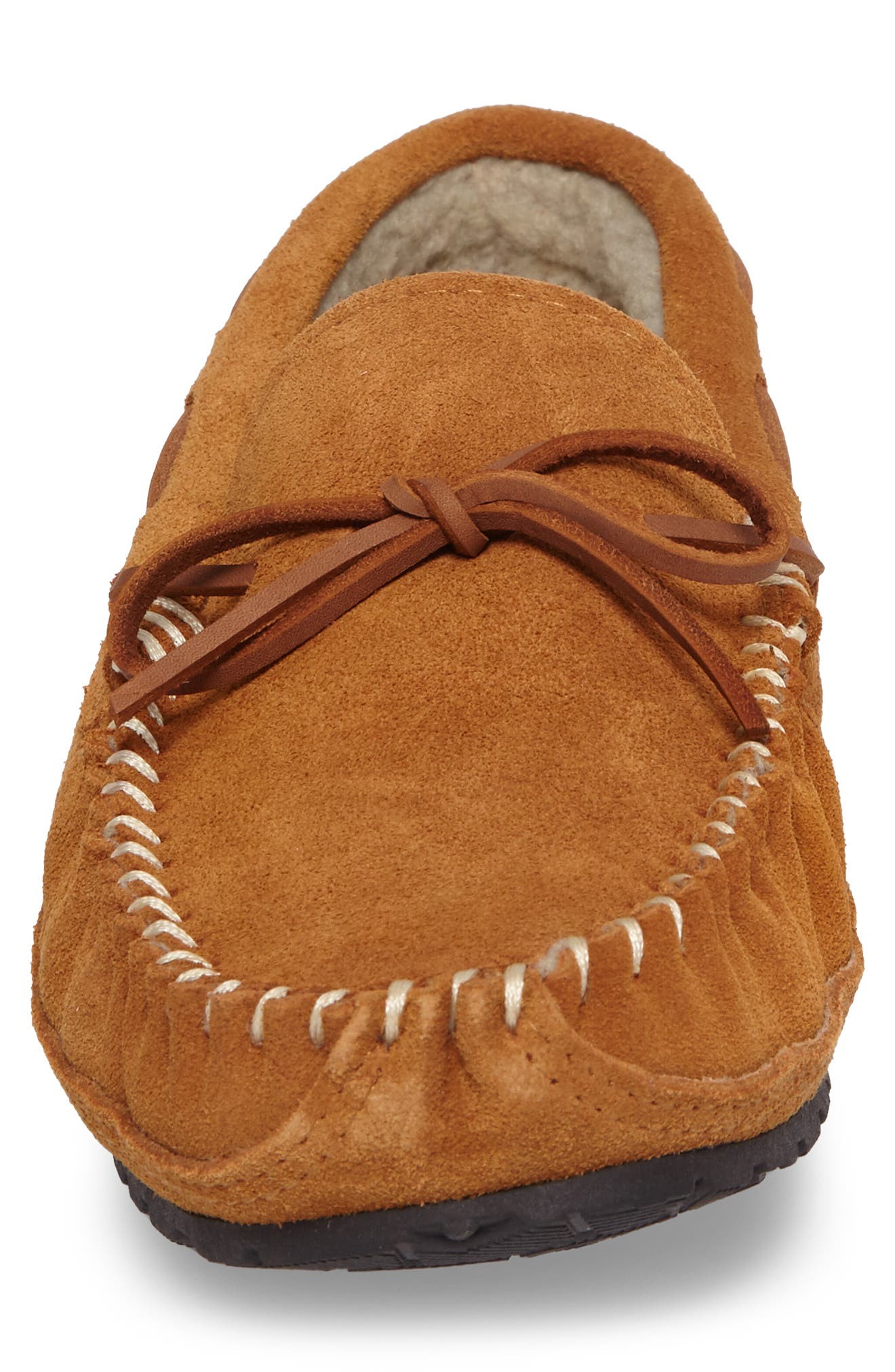 Vancouver Slipper,                             Alternate thumbnail 4, color,                             TAN SUEDE