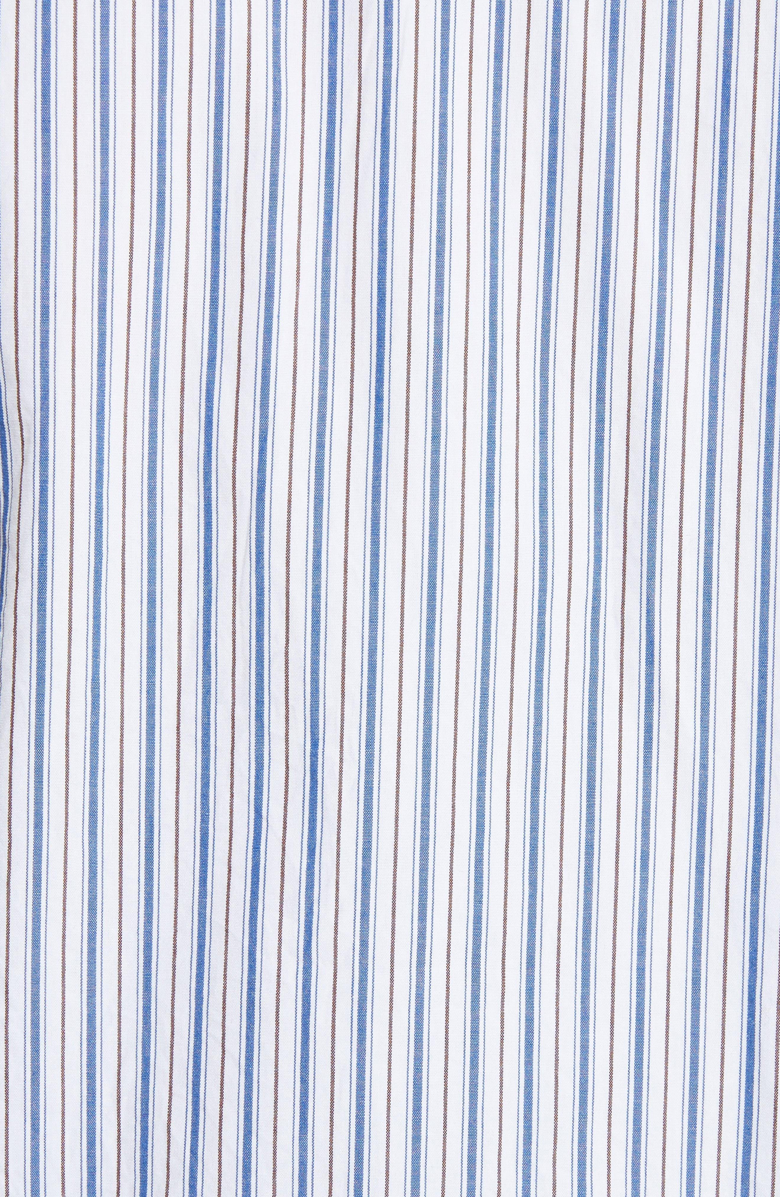 Stripe Shirt,                             Alternate thumbnail 5, color,                             BLUE