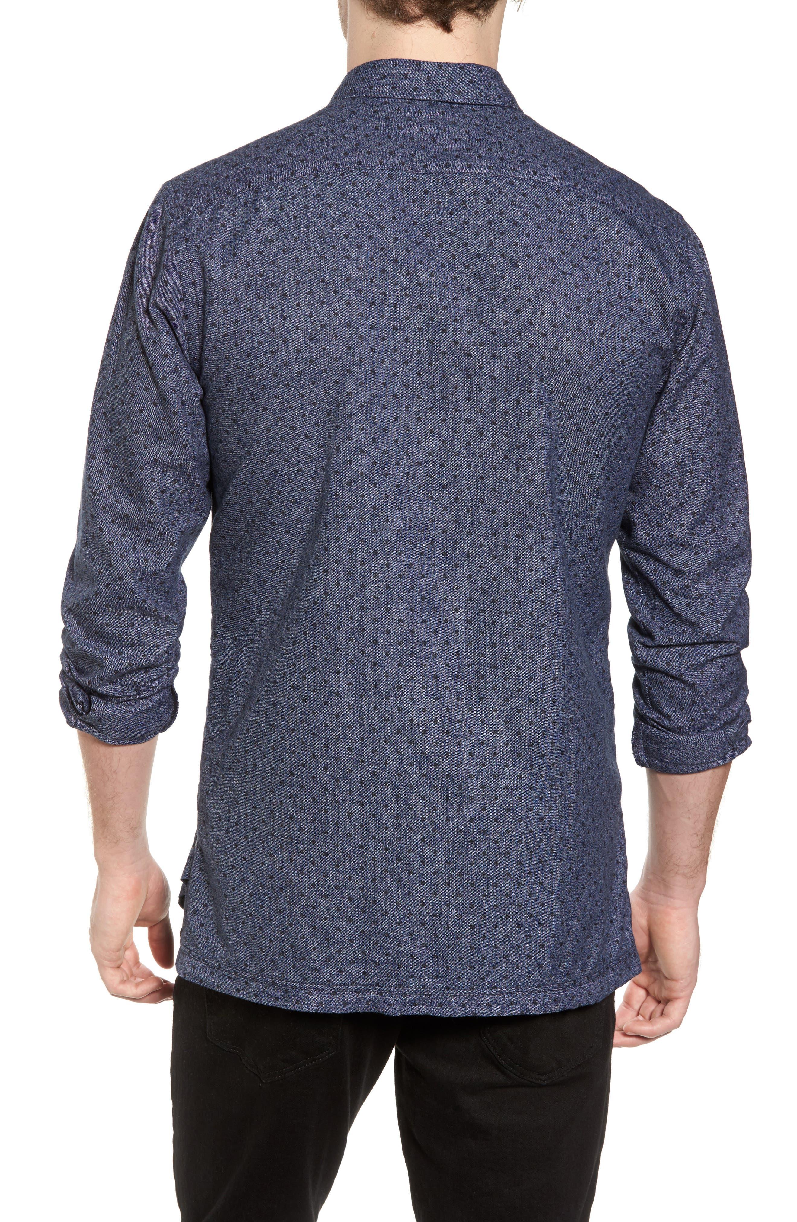 Classic Fit Print Shirt,                             Alternate thumbnail 2, color,                             410