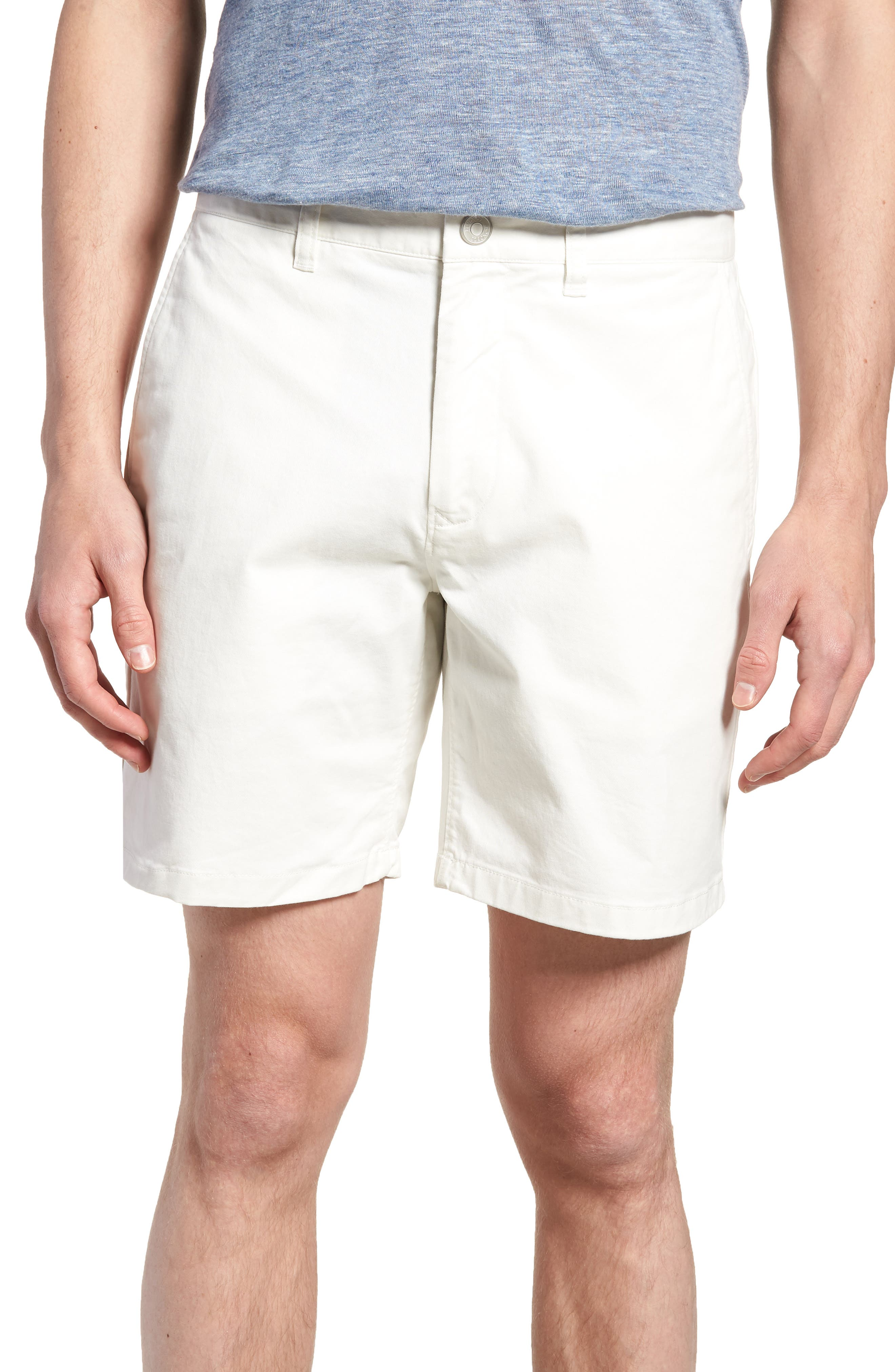 Stretch Washed Chino 7-Inch Shorts,                         Main,                         color,
