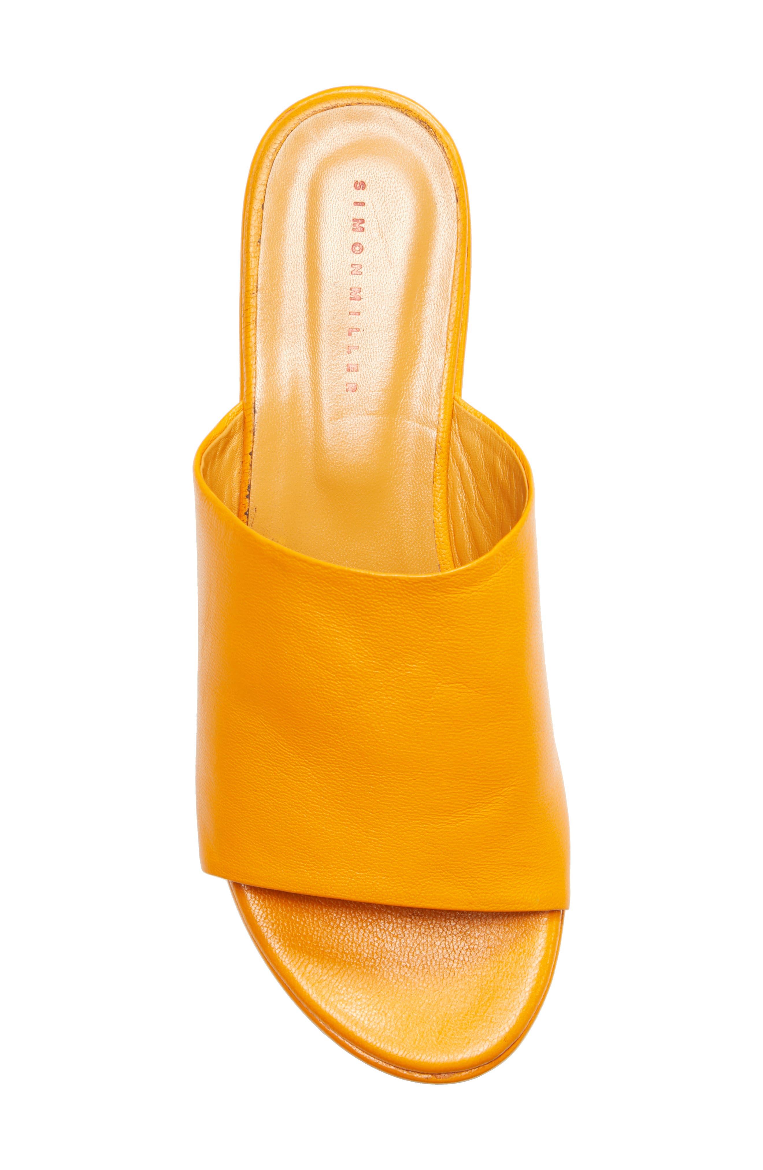 ,                             Blackout Platform Sandal,                             Alternate thumbnail 5, color,                             GOLDEN ORANGE