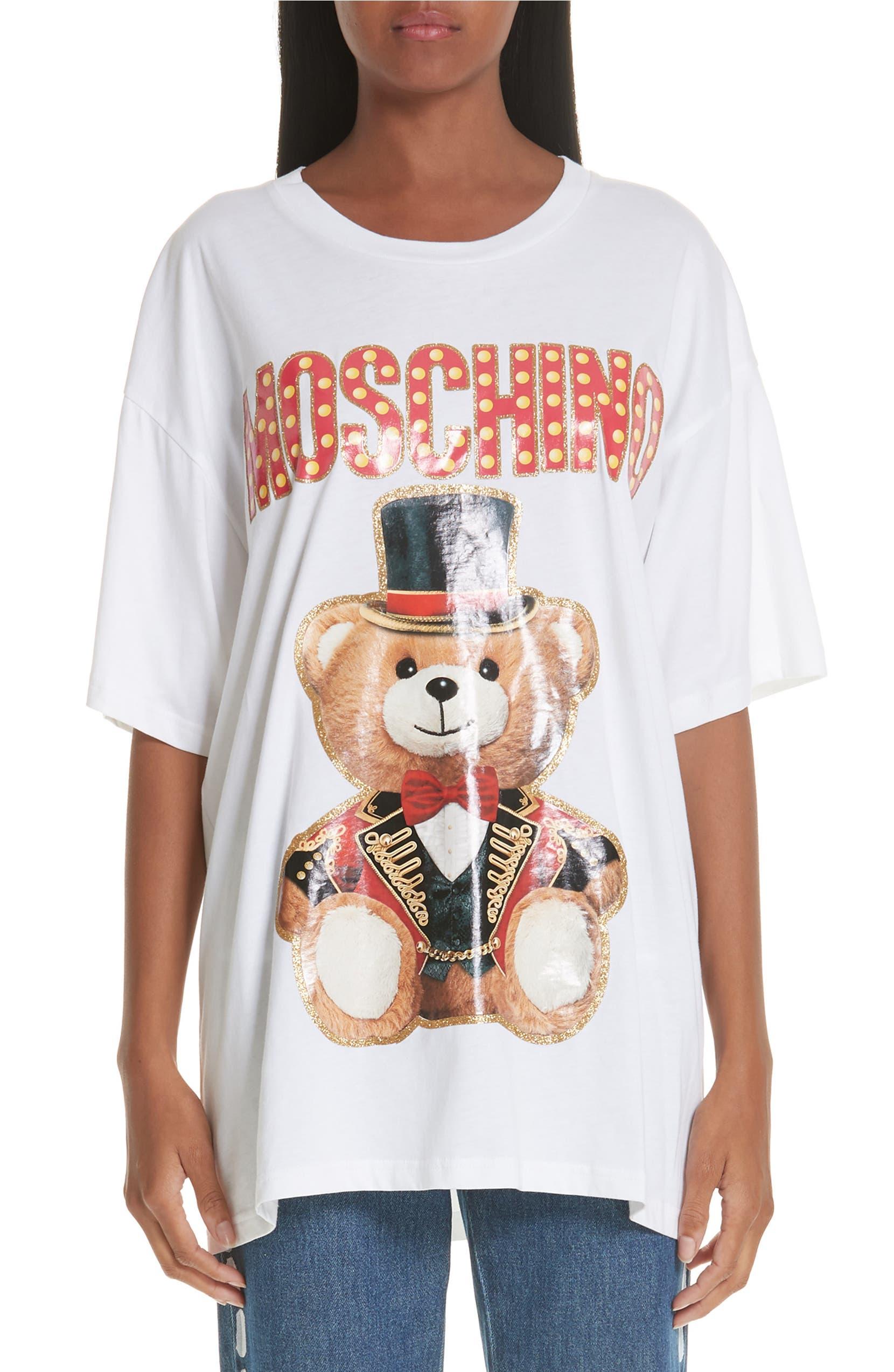 a1cb66fe Moschino Circus Teddy Oversize Tee | Nordstrom