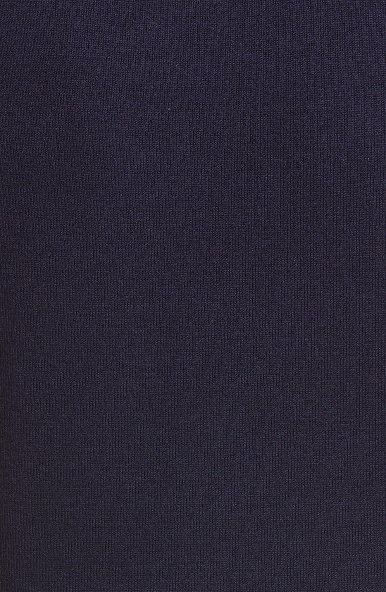 ,                             Wool Sweater Dress,                             Alternate thumbnail 6, color,                             NAVY