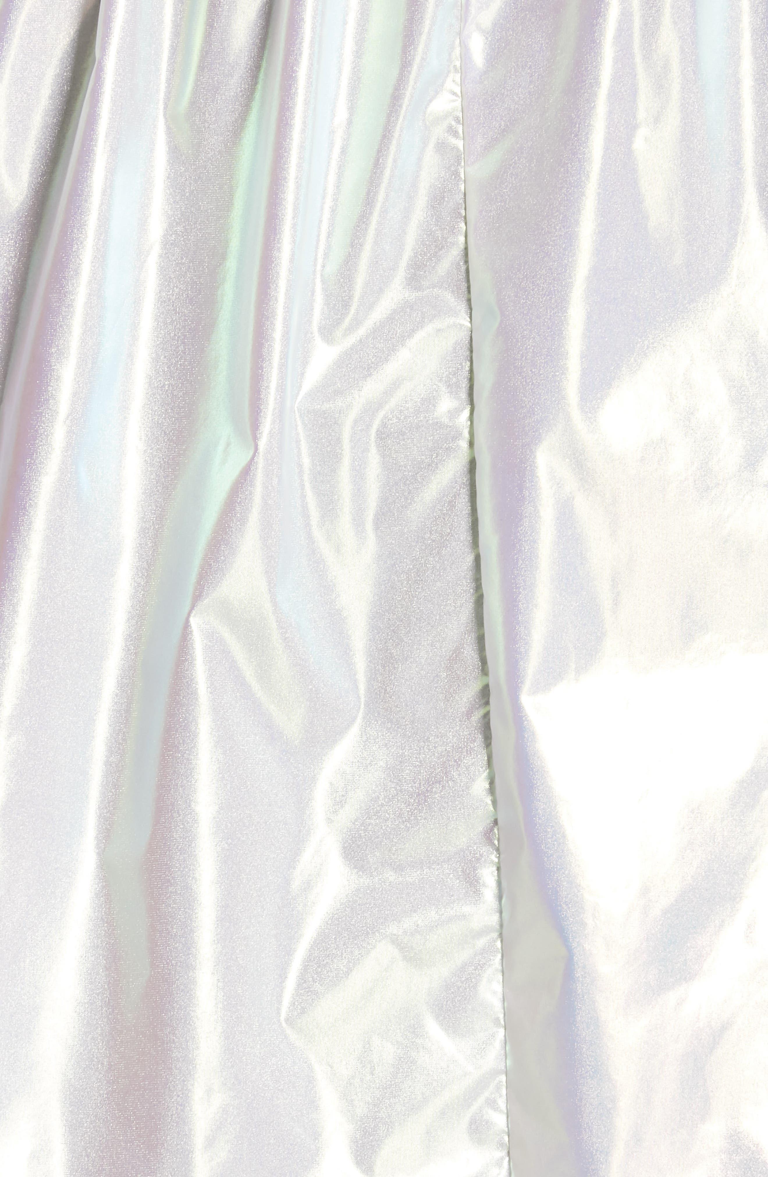 ,                             Iridescent Hooded Parka,                             Alternate thumbnail 5, color,                             IRIDESCENT