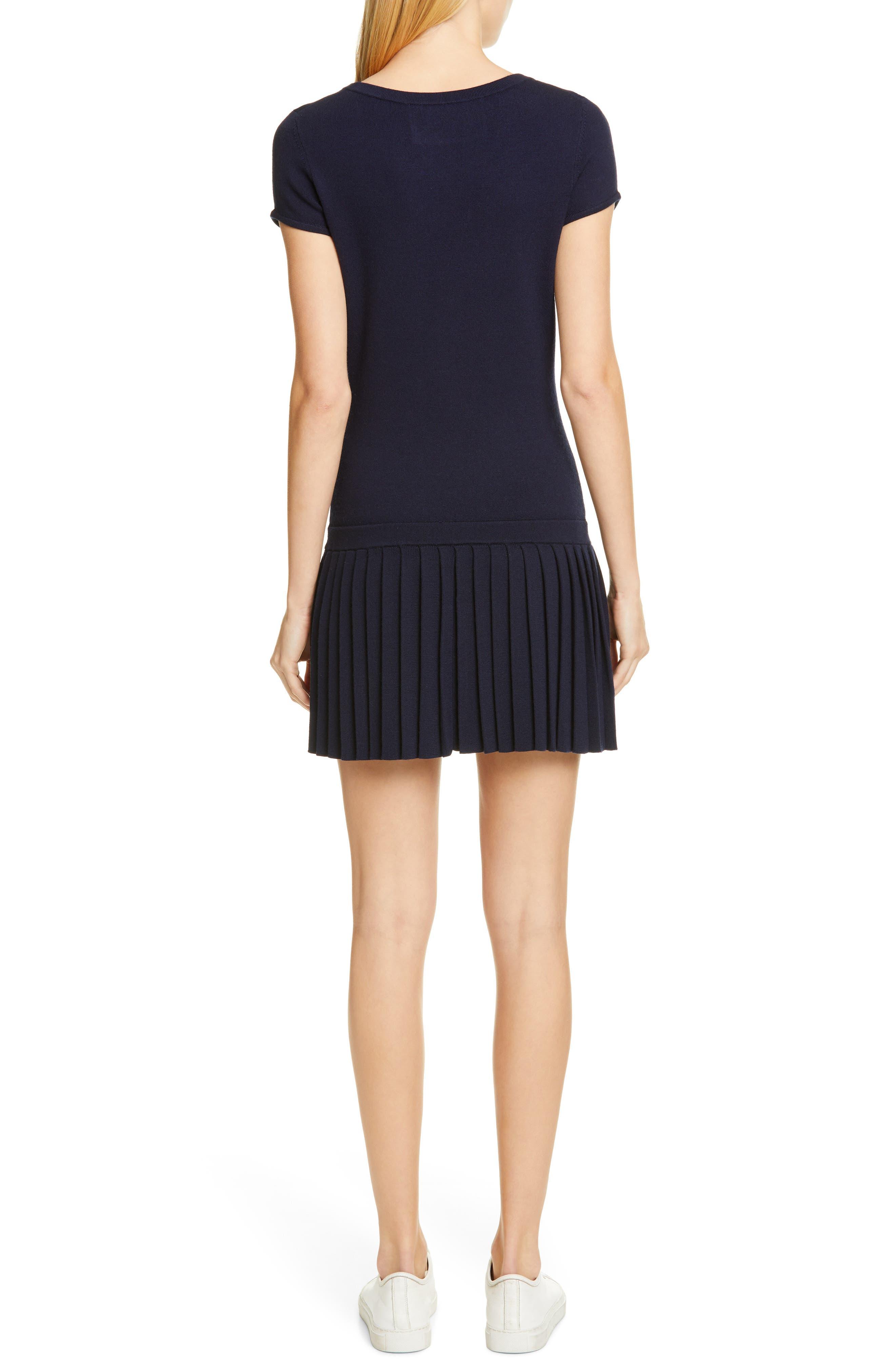 ,                             Wool Sweater Dress,                             Alternate thumbnail 2, color,                             NAVY