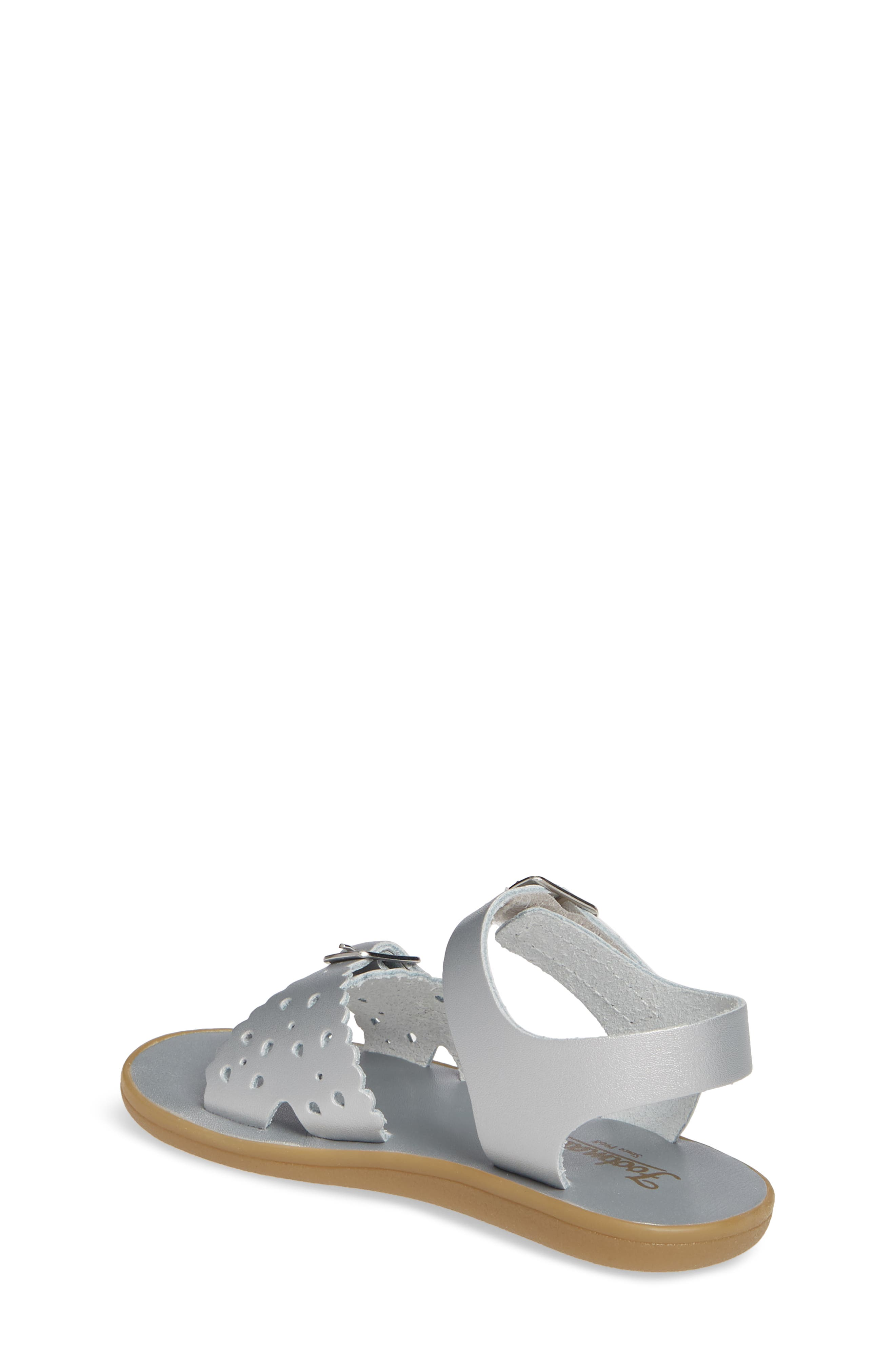 FOOTMATES,                             Arie Waterproof Sandal,                             Alternate thumbnail 2, color,                             SILVER