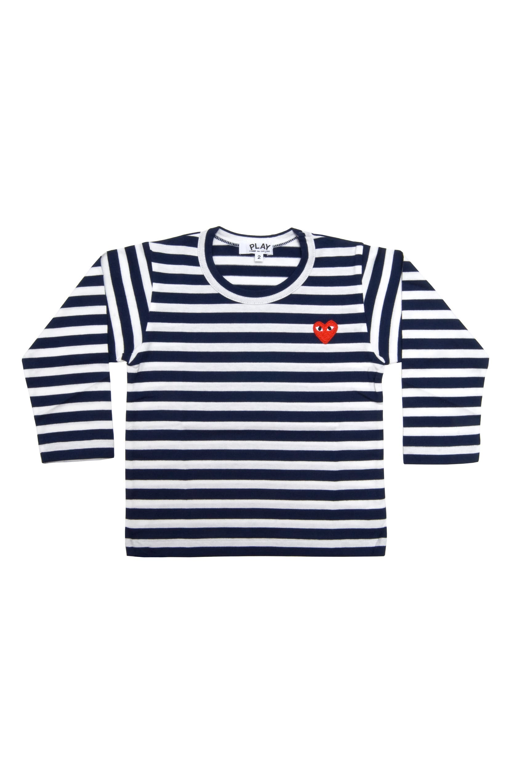 3c93872ce43d06 Comme des Garçons PLAY Stripe T-Shirt (Toddler   Little Kid)