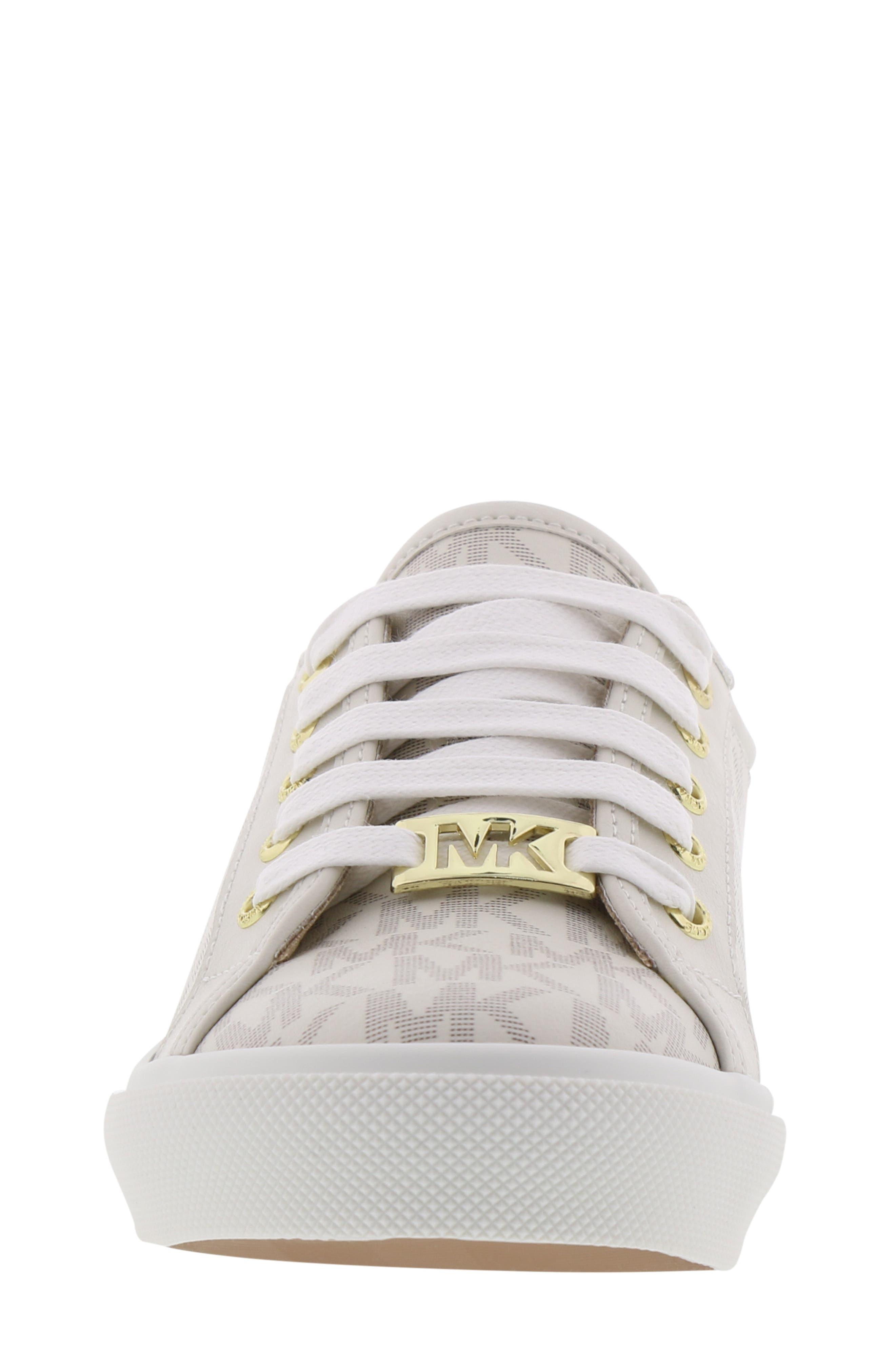 MICHAEL MICHAEL KORS,                             Ima Rebel Sneaker,                             Alternate thumbnail 4, color,                             VANILLA