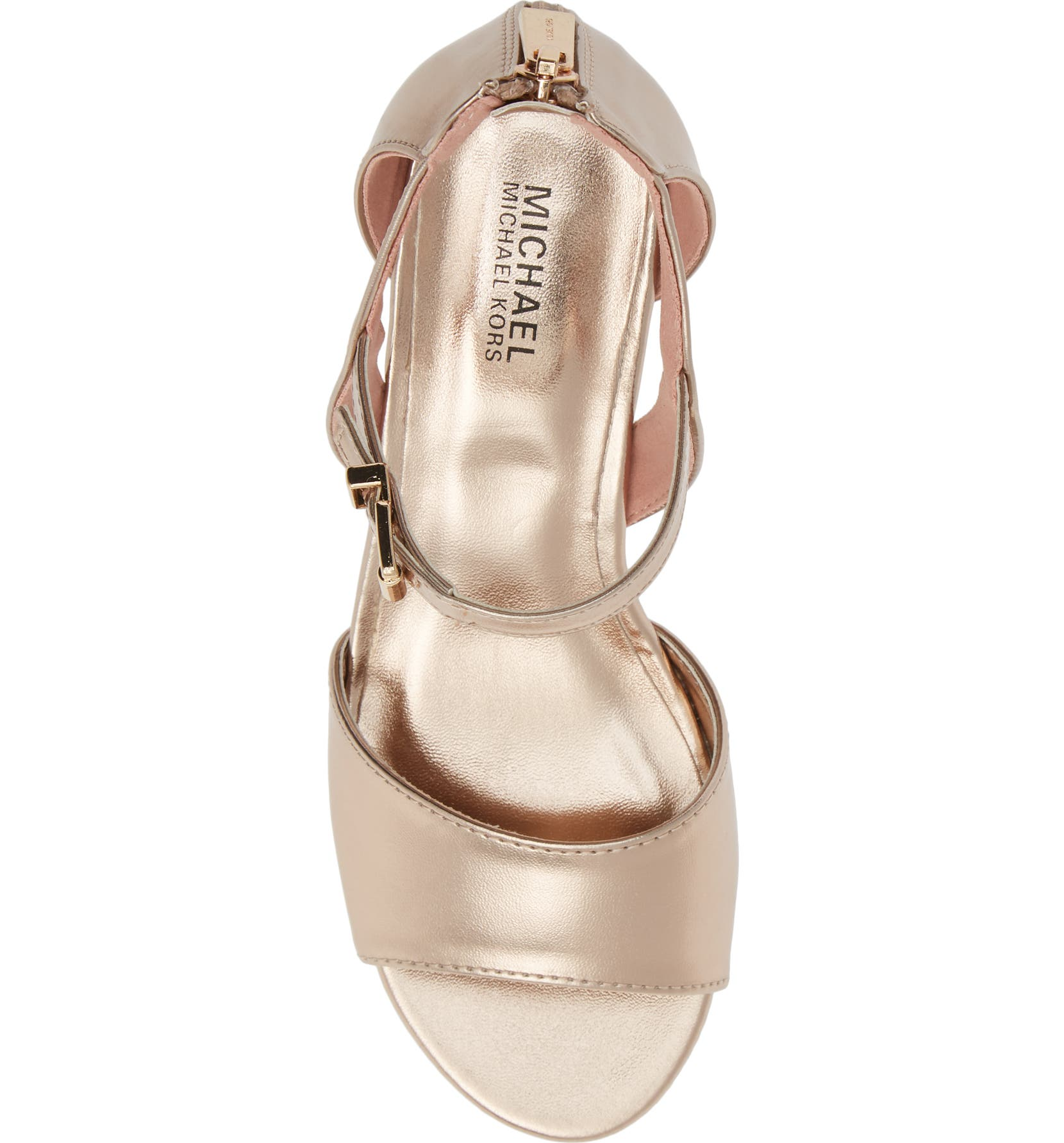 7b1f653c4d5e MICHAEL Michael Kors Gemini Jones Sandal (Toddler