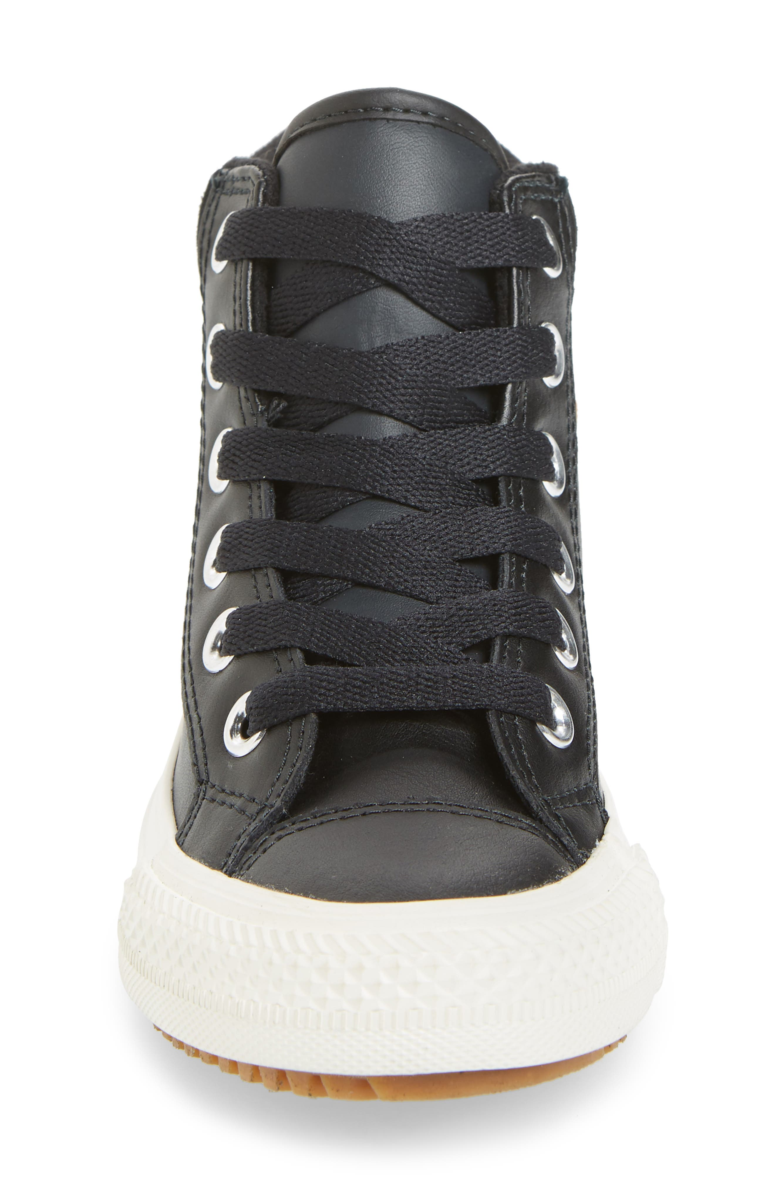 CONVERSE,                             Chuck Taylor<sup>®</sup> All Star<sup>®</sup> PC High Top Sneaker,                             Alternate thumbnail 4, color,                             BLACK