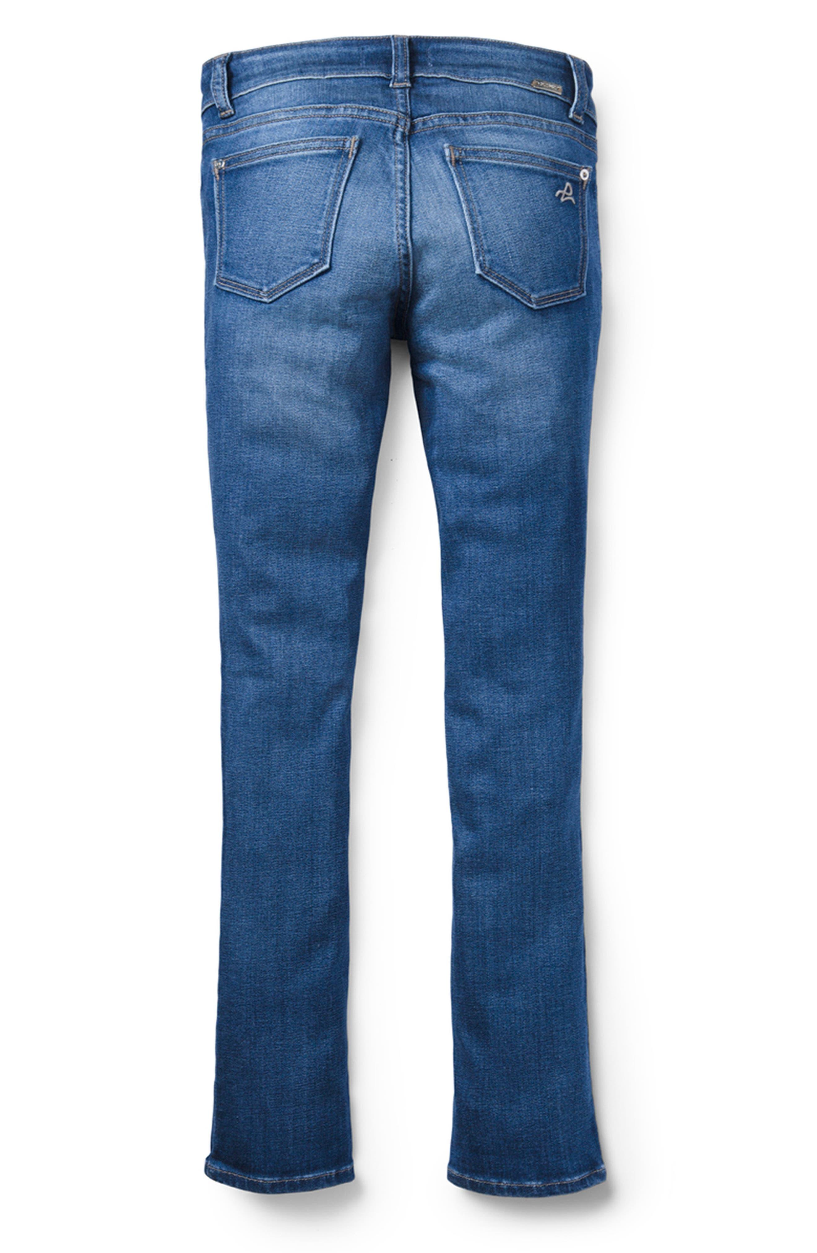 DL1961 Stretch Skinny Jeans, Main, color, BLUE