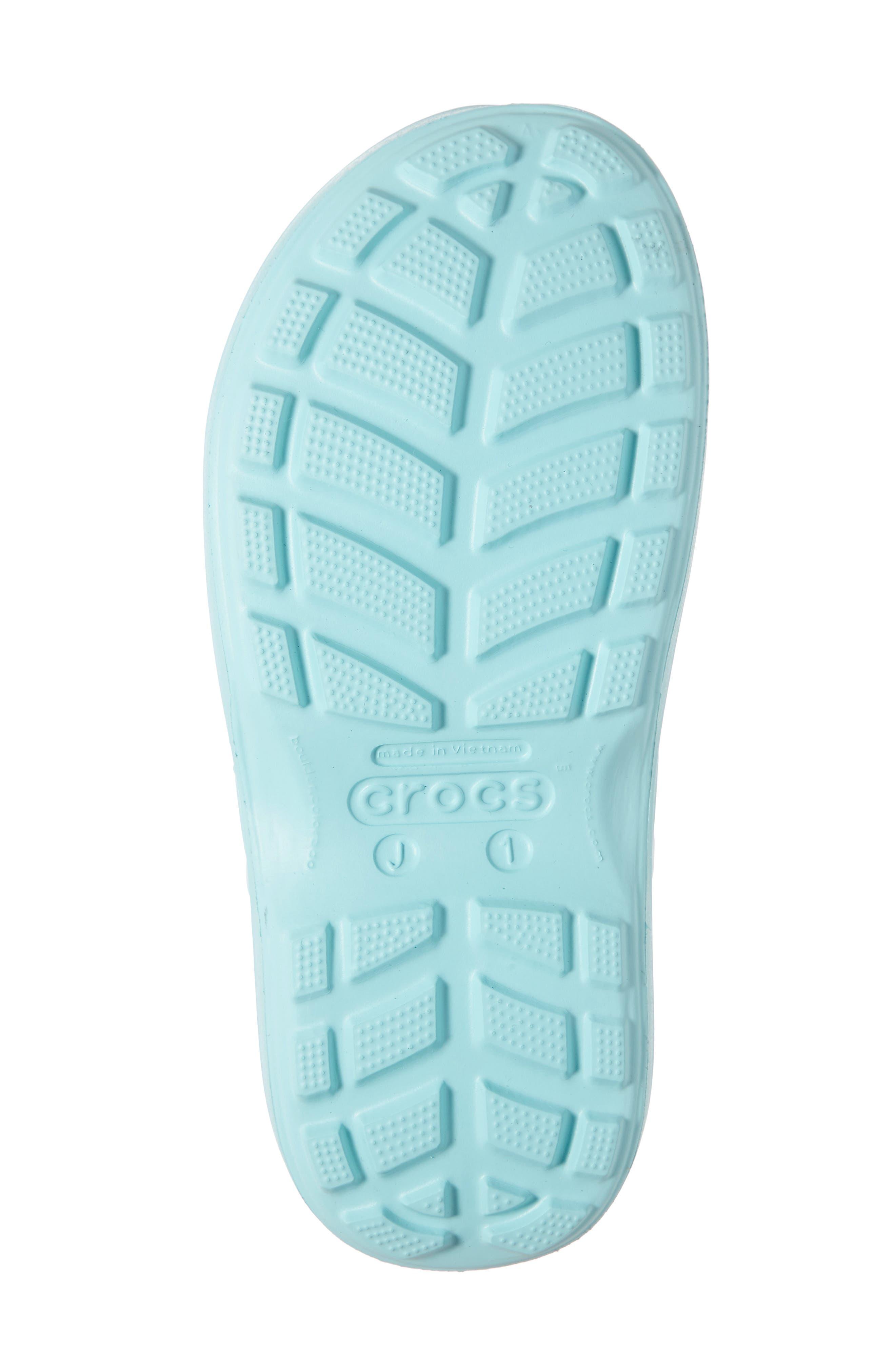 CROCS<SUP>™</SUP>,                             Handle It Waterproof Rain Boot,                             Alternate thumbnail 6, color,                             ICE BLUE