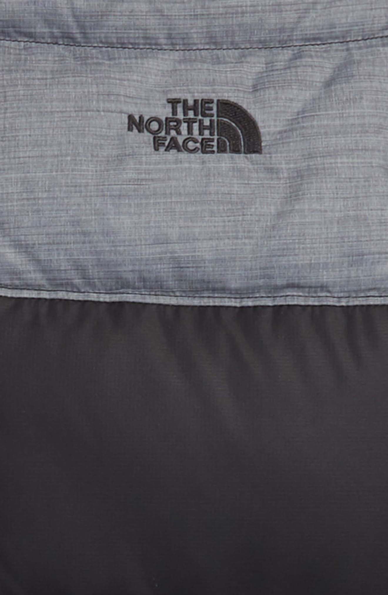 THE NORTH FACE,                             'Moondoggy' Water Repellent Reversible Down Jacket,                             Alternate thumbnail 3, color,                             BLACK/ GRAPHITE GREY