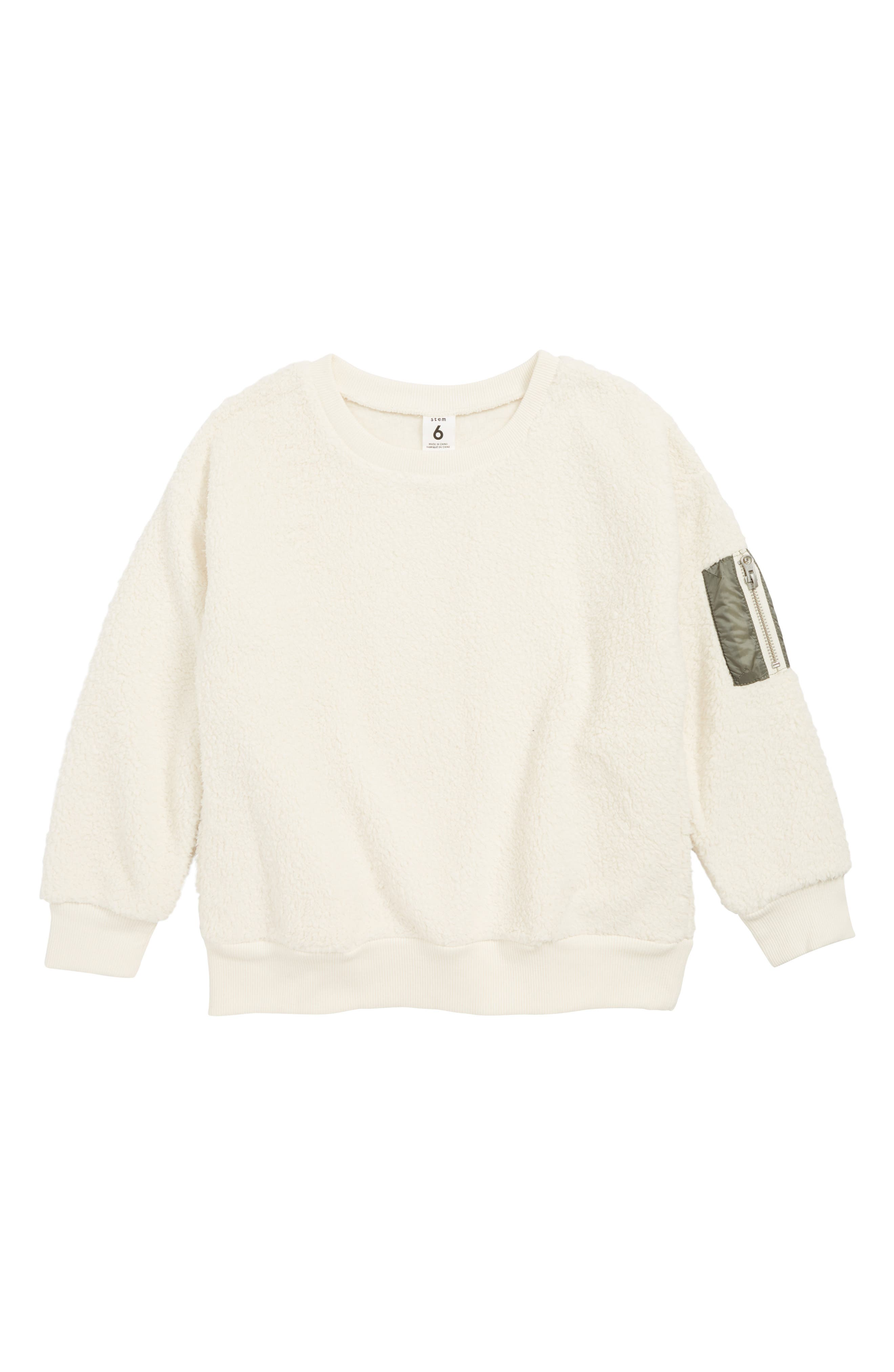 STEM Teddy Sweatshirt, Main, color, 900