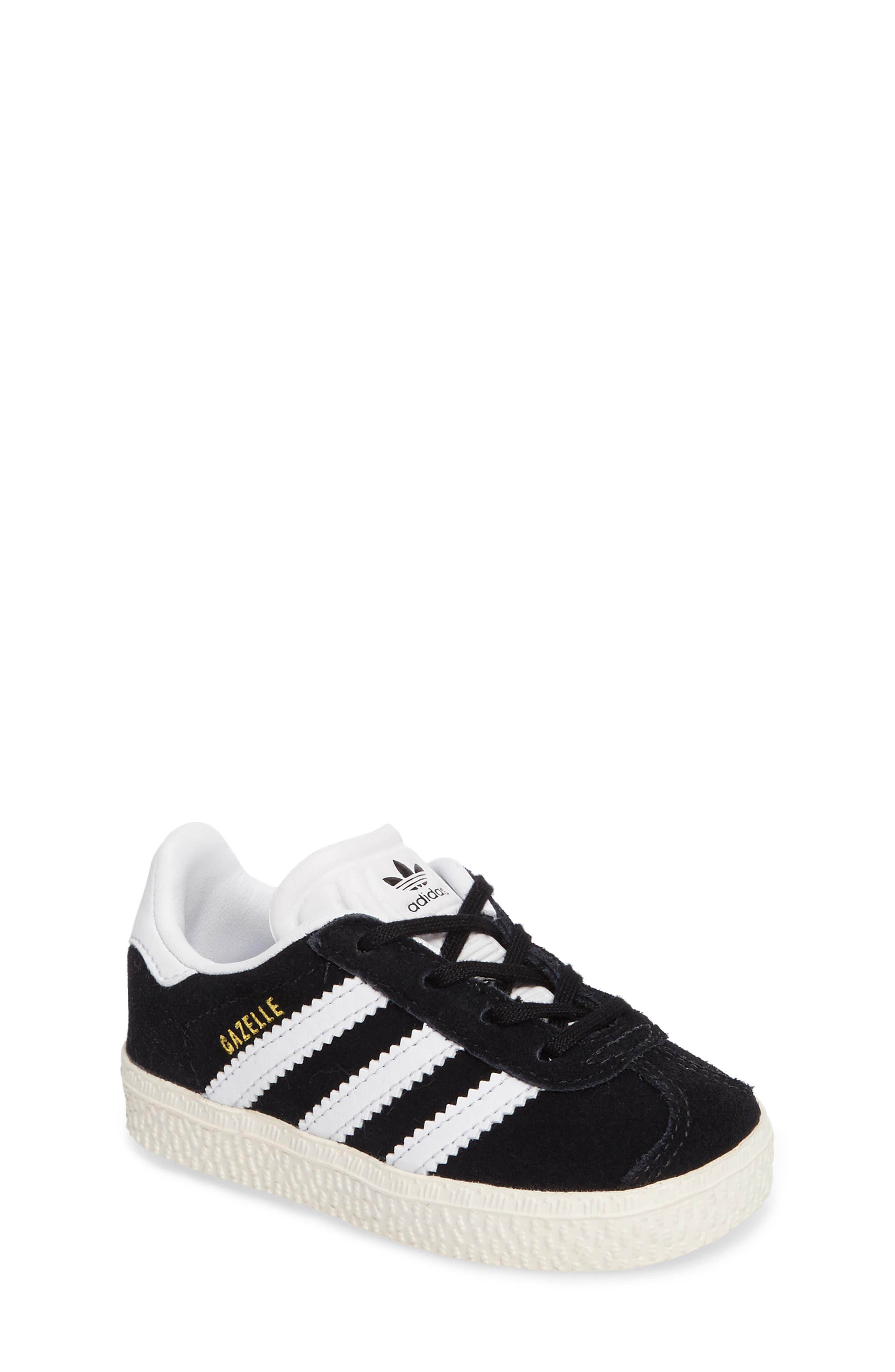 ADIDAS,                             Gazelle Sneaker,                             Main thumbnail 1, color,                             001