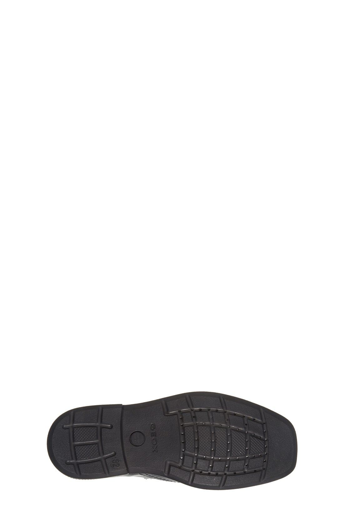 GEOX,                             'Federico' Loafer,                             Alternate thumbnail 4, color,                             BLACK