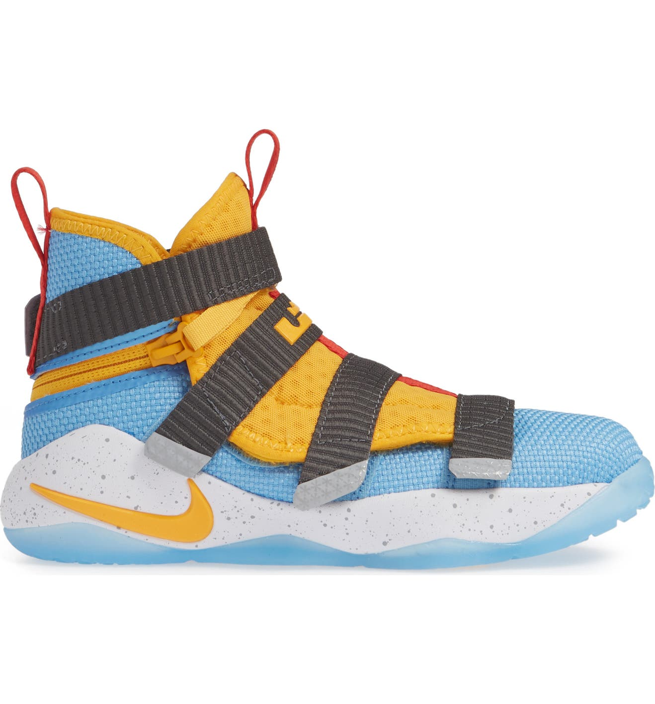 87ed33cb124 Nike LeBron Soldier XI FlyEase High Top Sneaker (Toddler