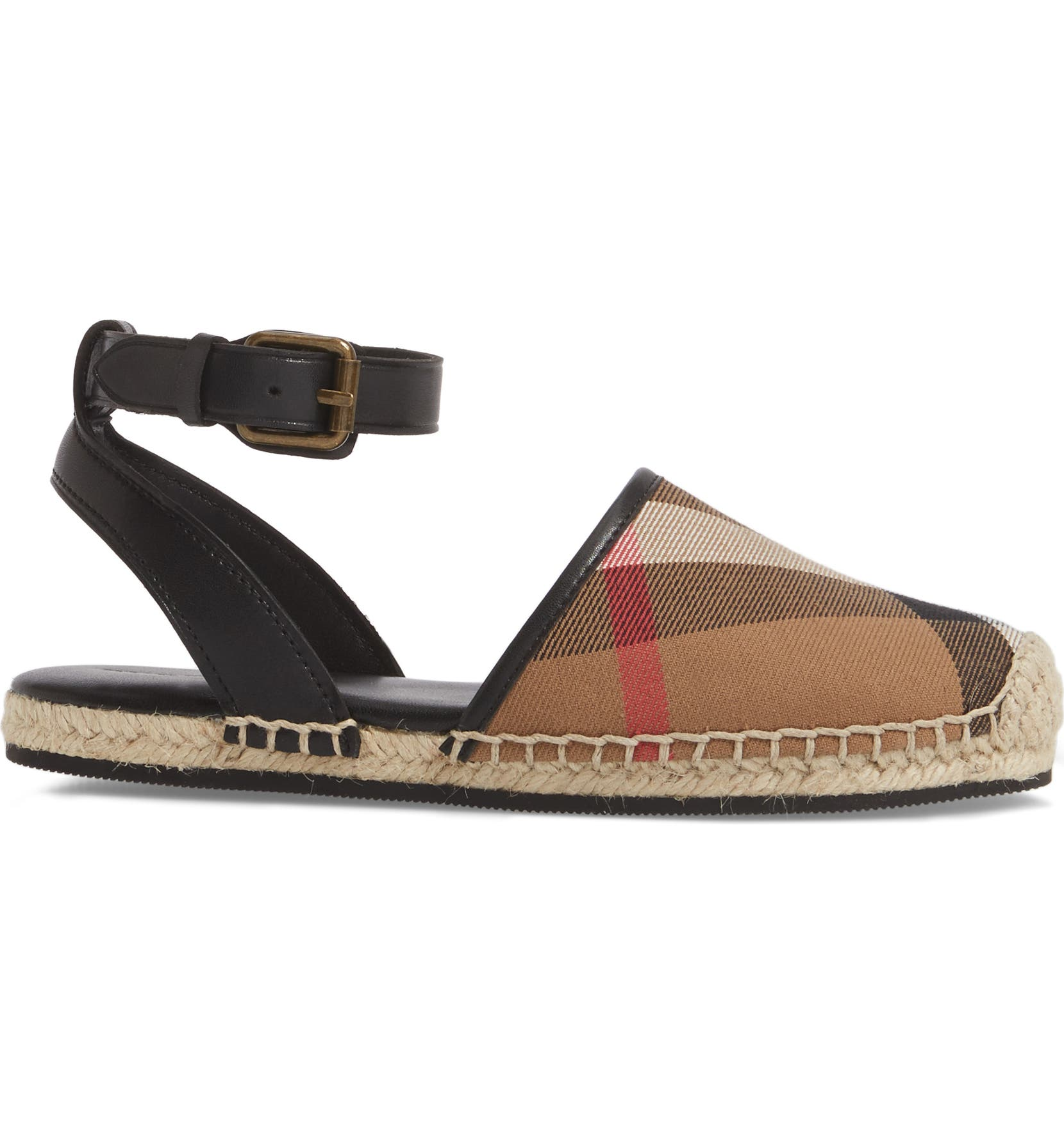23508f639f6 Burberry Perth Ankle Strap Sandal (Walker