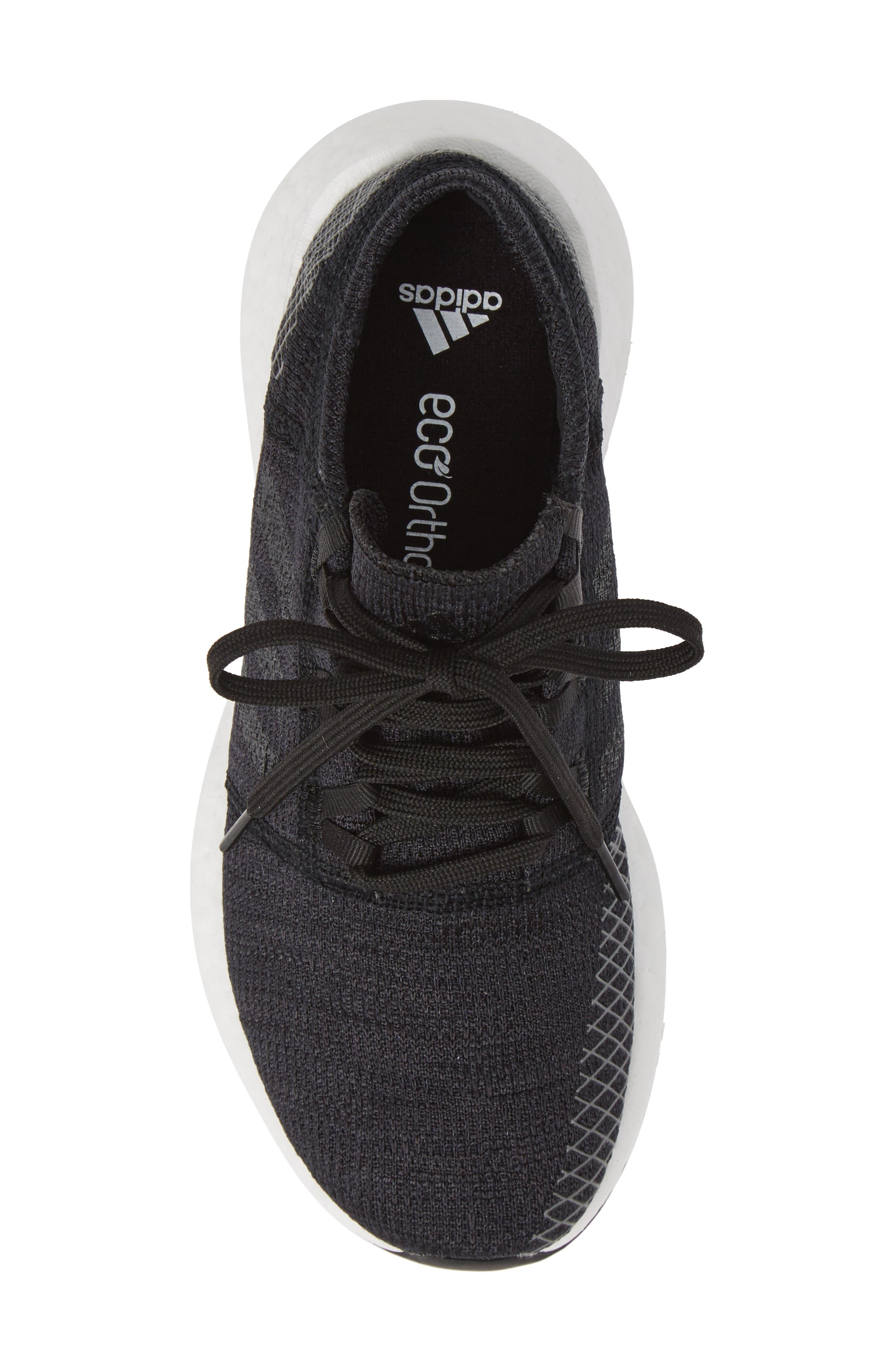 ADIDAS,                             PureBoost GO Running Shoe,                             Alternate thumbnail 5, color,                             001