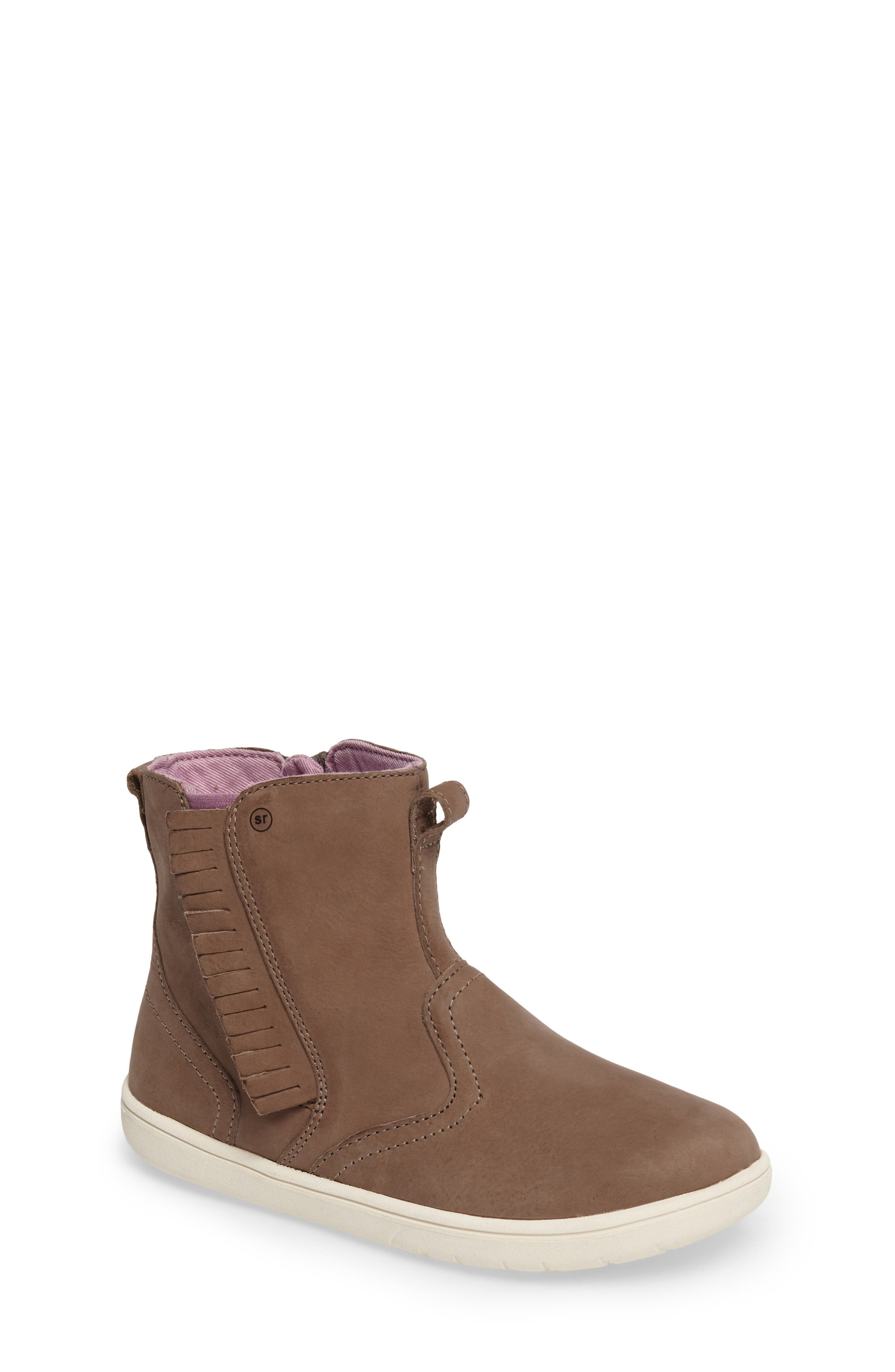 STRIDE RITE,                             SRtech<sup>™</sup> Maxine Fringed Bootie,                             Main thumbnail 1, color,                             210