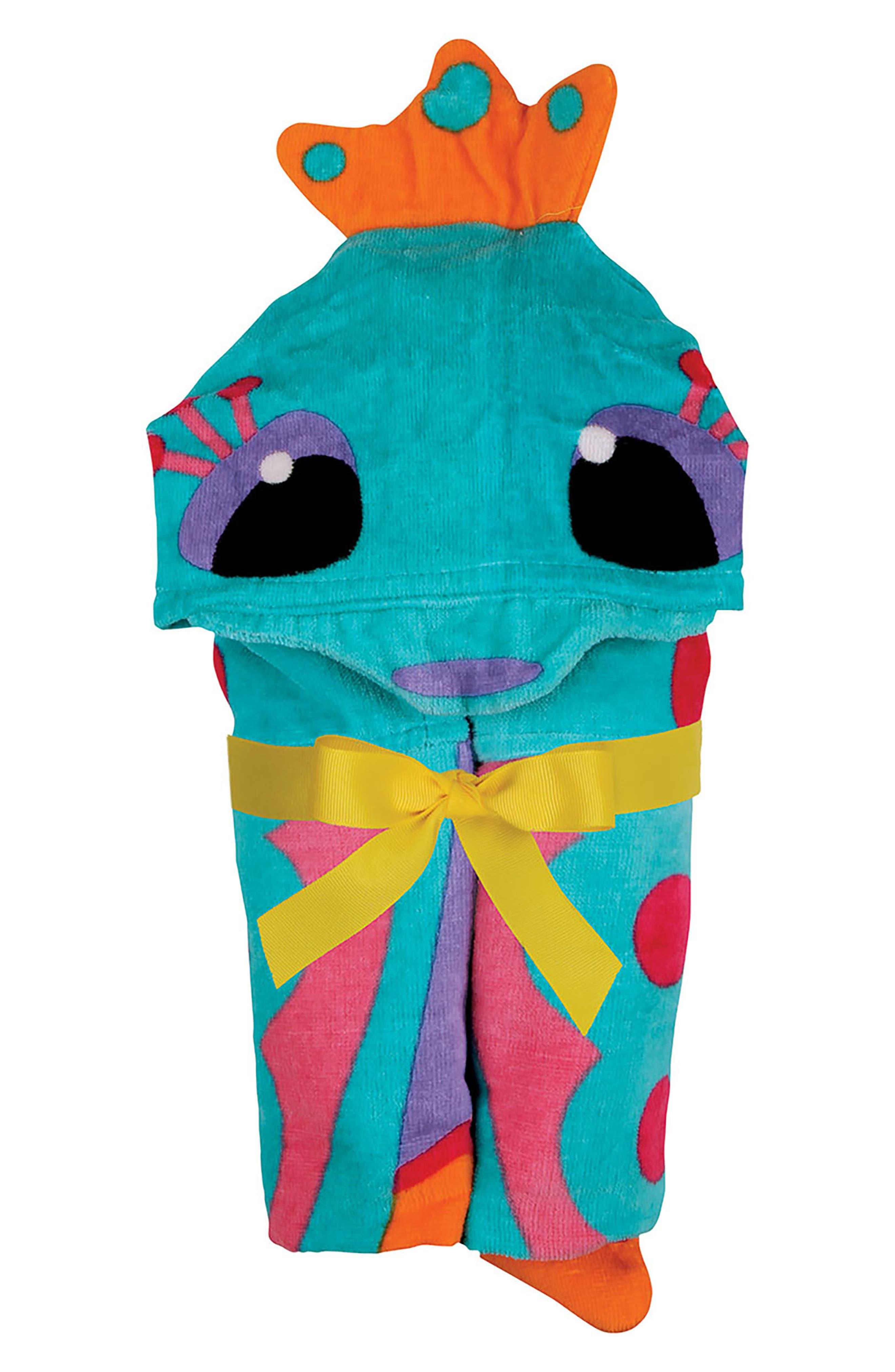 STEPHEN JOSEPH,                             Wet/Dry Bag, Hooded Towel & Goggles,                             Alternate thumbnail 5, color,                             PURPLE SEAHORSE