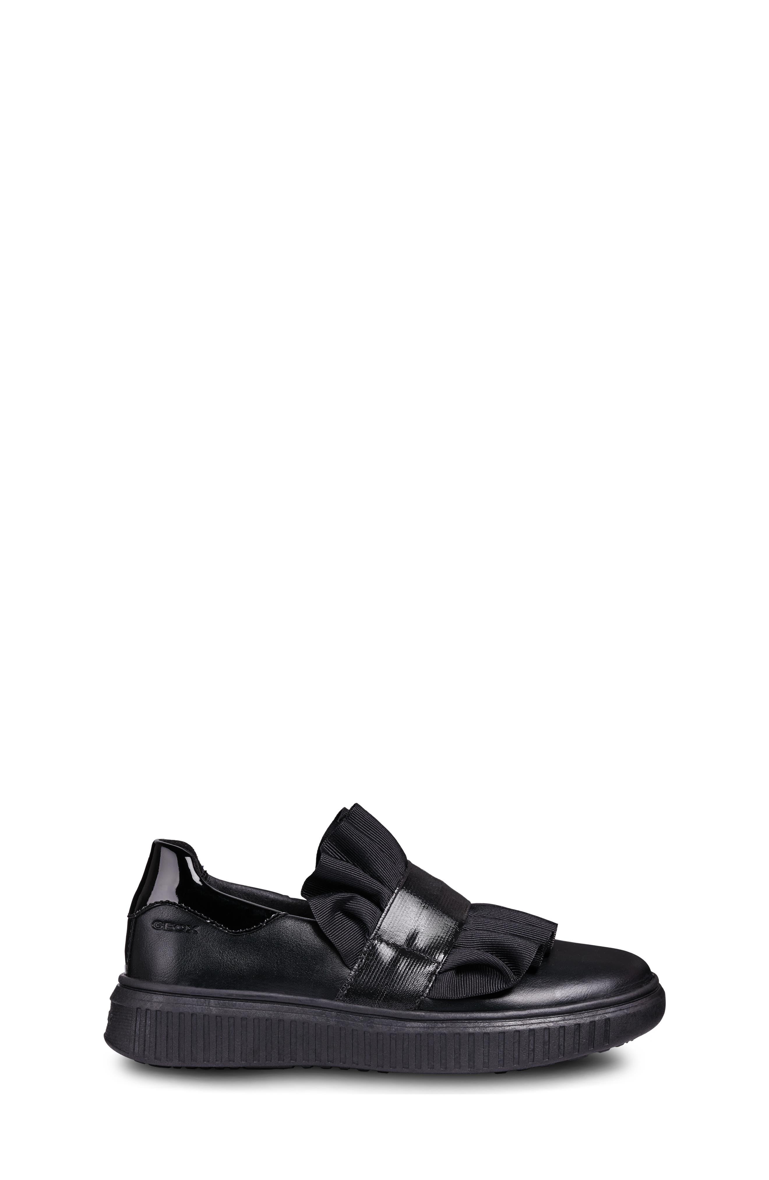 GEOX,                             Disco Mix Slip-On Sneaker,                             Alternate thumbnail 3, color,                             001