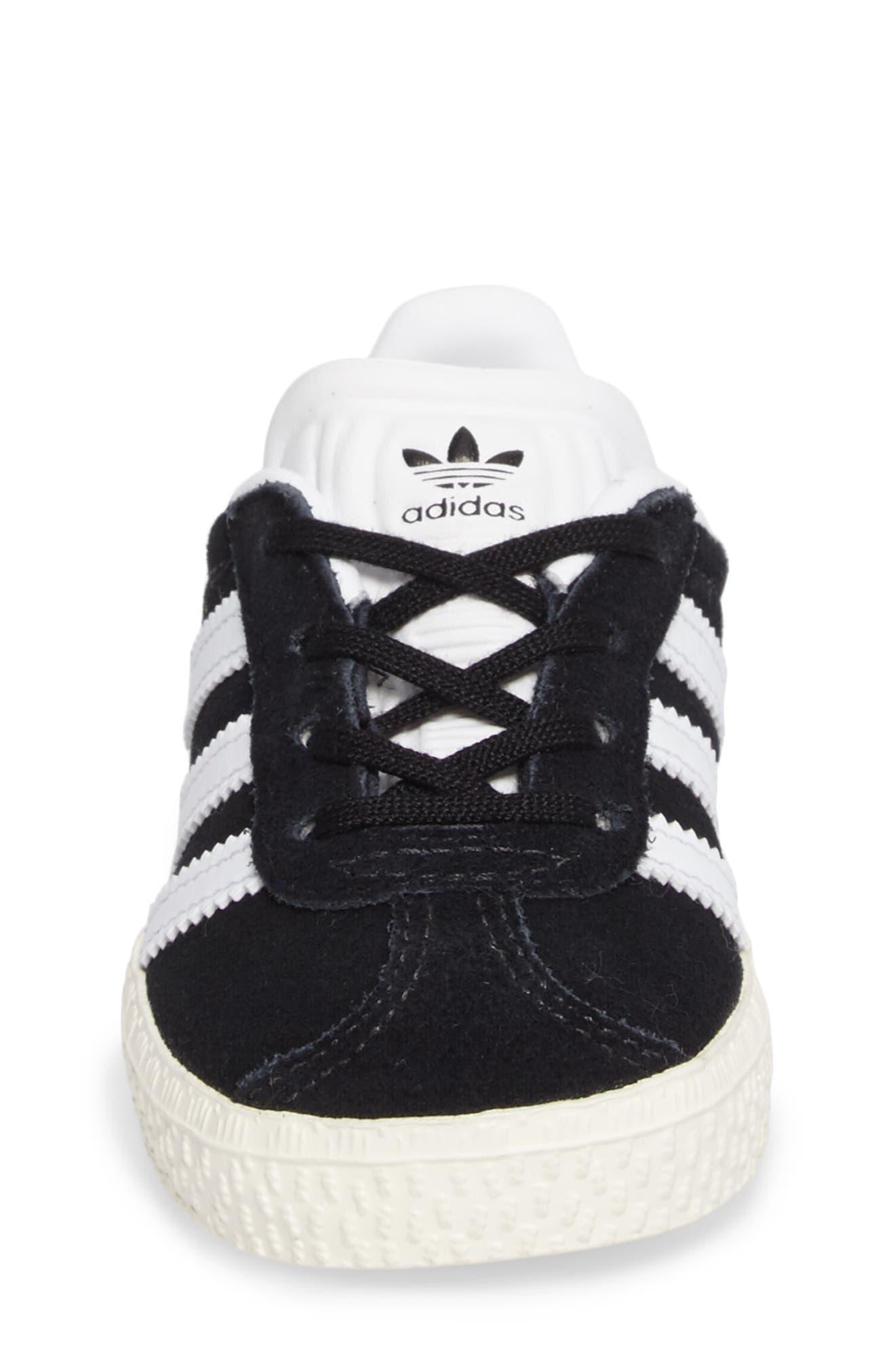 ADIDAS,                             Gazelle Sneaker,                             Alternate thumbnail 4, color,                             001