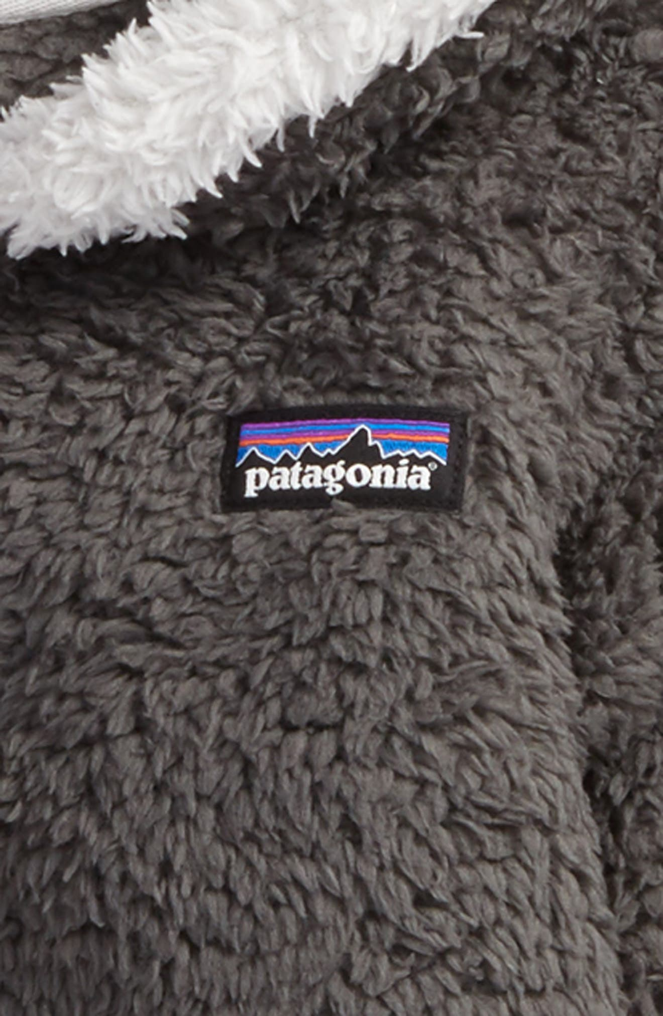PATAGONIA,                             Furry Friends Zip Hoodie,                             Alternate thumbnail 2, color,                             FORGE GREY