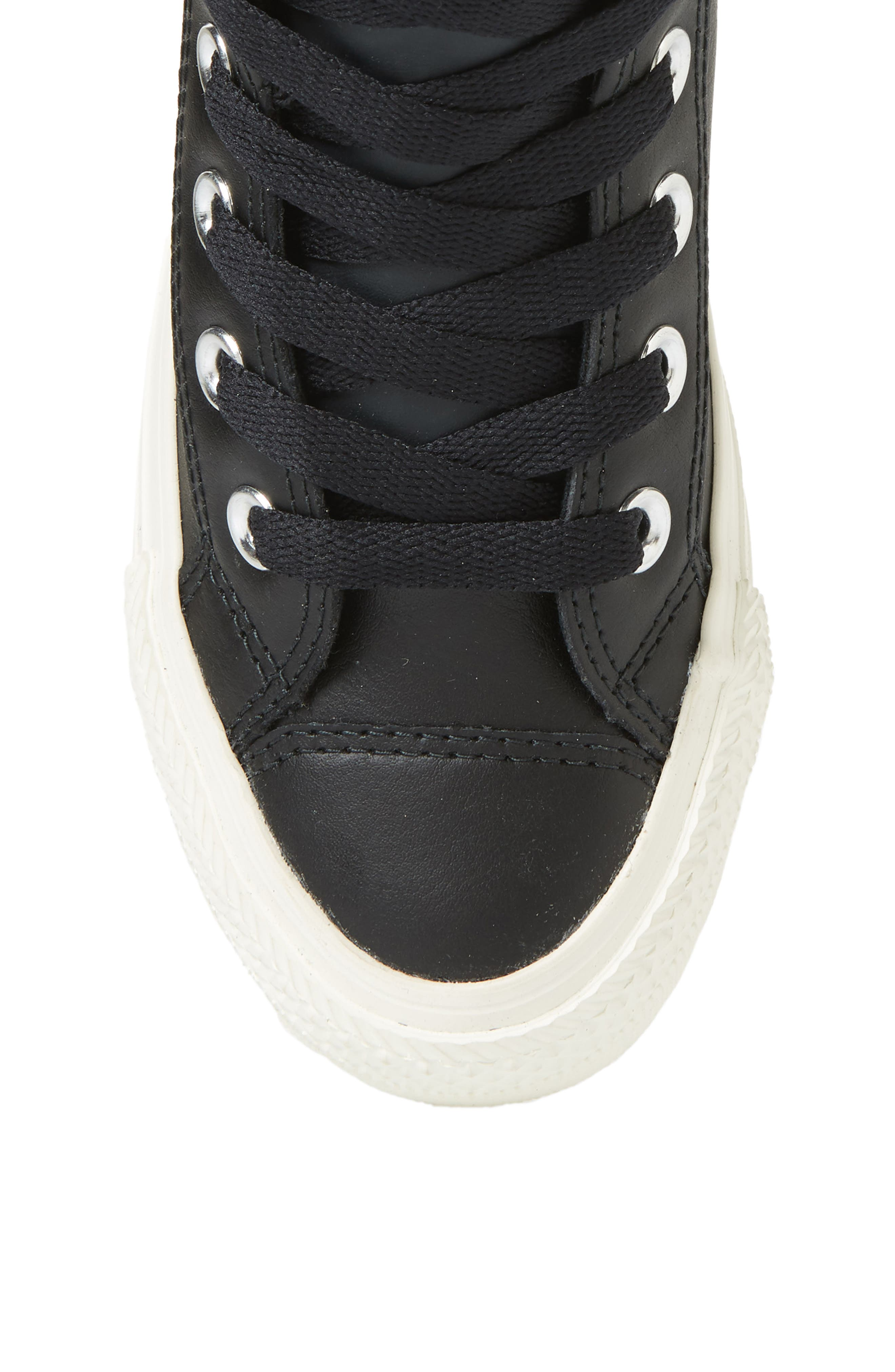 CONVERSE,                             Chuck Taylor<sup>®</sup> All Star<sup>®</sup> PC High Top Sneaker,                             Alternate thumbnail 5, color,                             BLACK