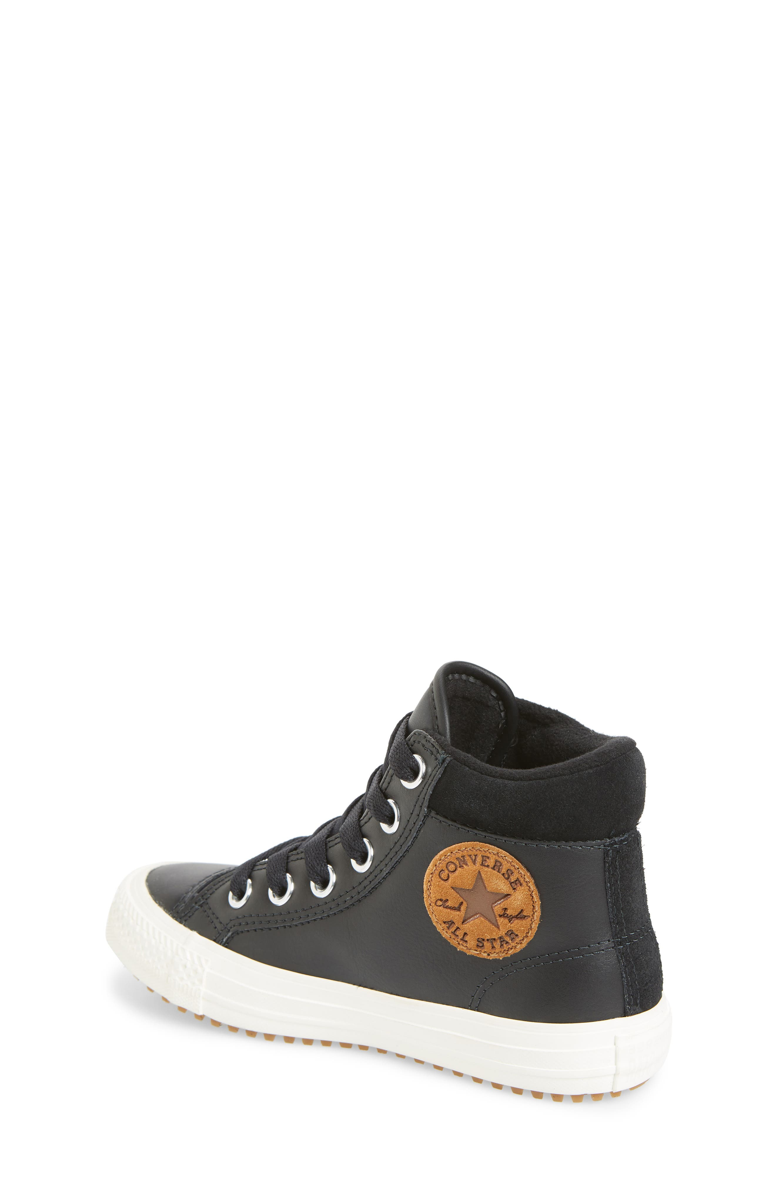 CONVERSE,                             Chuck Taylor<sup>®</sup> All Star<sup>®</sup> PC High Top Sneaker,                             Alternate thumbnail 2, color,                             BLACK