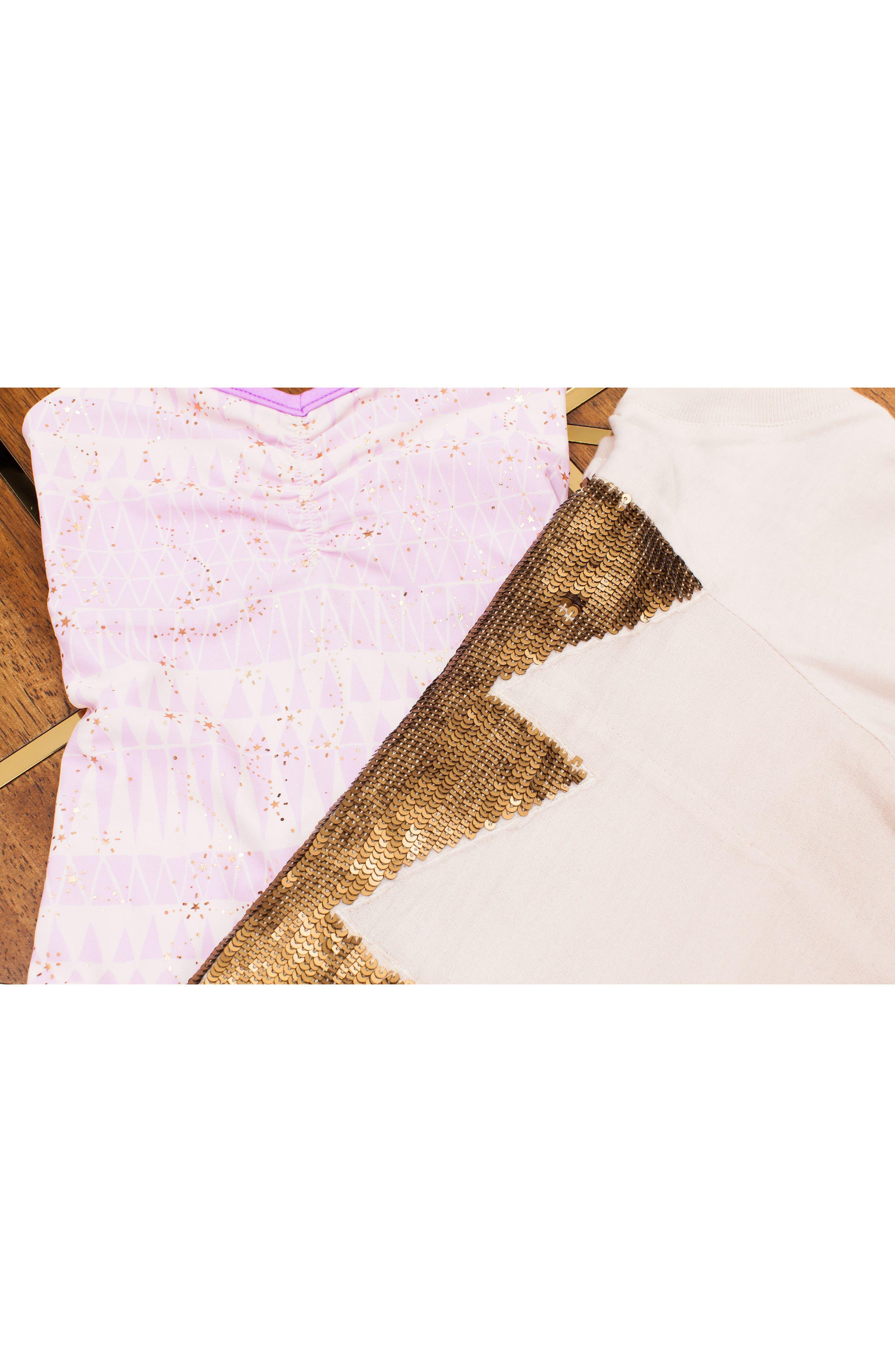 BOWIE X JAMES,                             Catalinakini One-Piece Reversible Swimsuit,                             Alternate thumbnail 5, color,                             LAVENDER