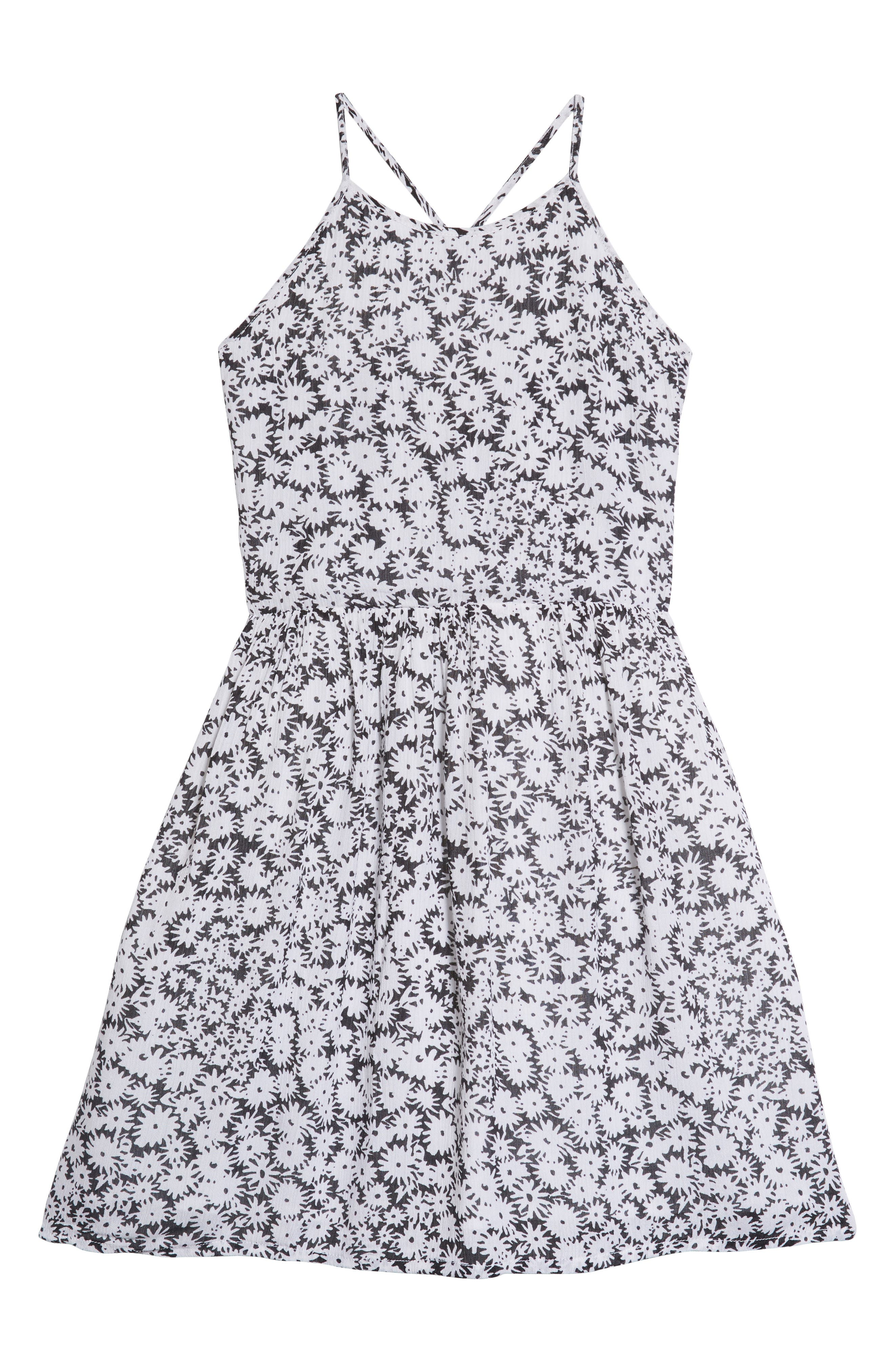 TUCKER + TATE,                             Smocked Dress,                             Main thumbnail 1, color,                             001
