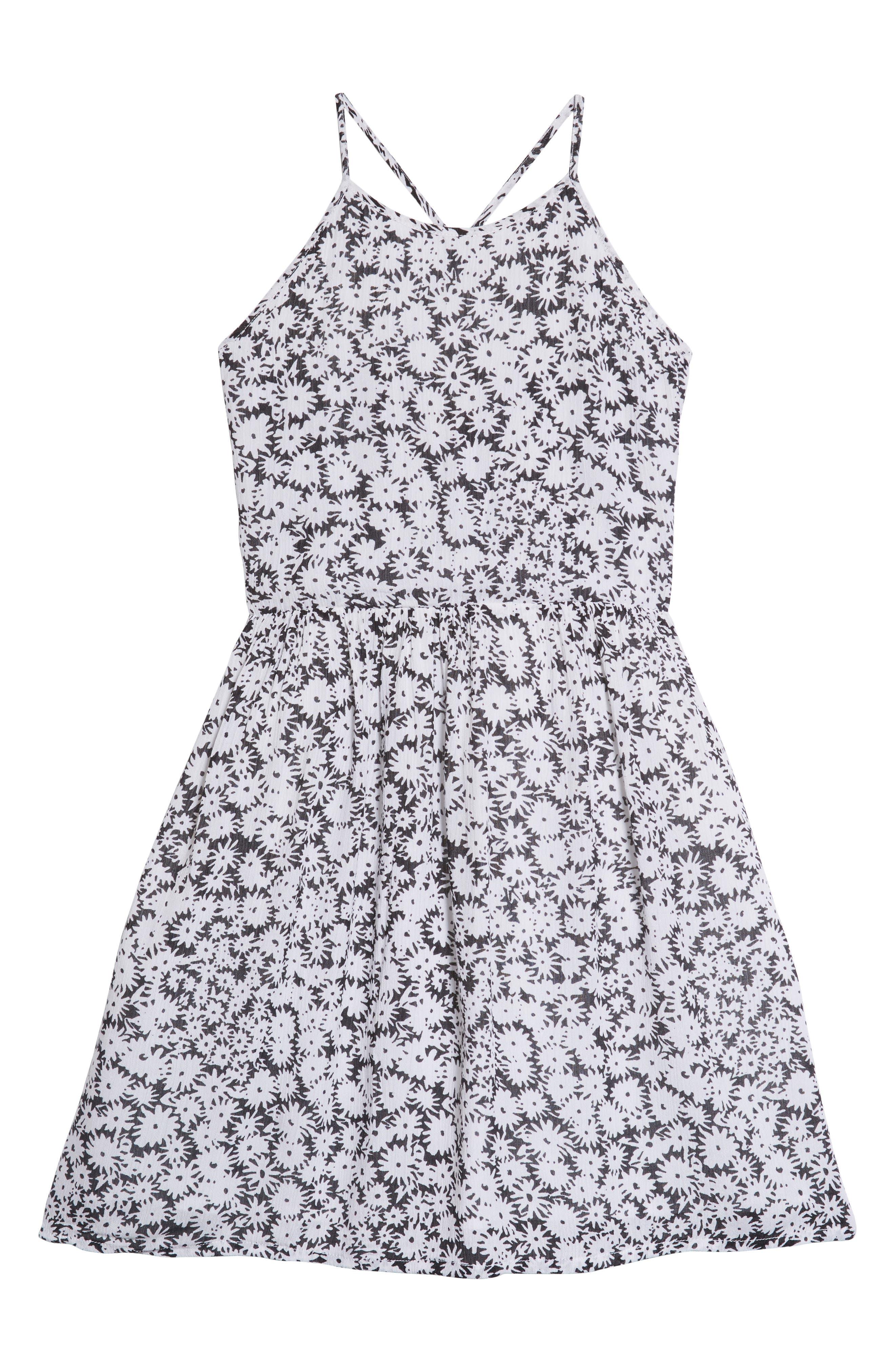 TUCKER + TATE Smocked Dress, Main, color, 001