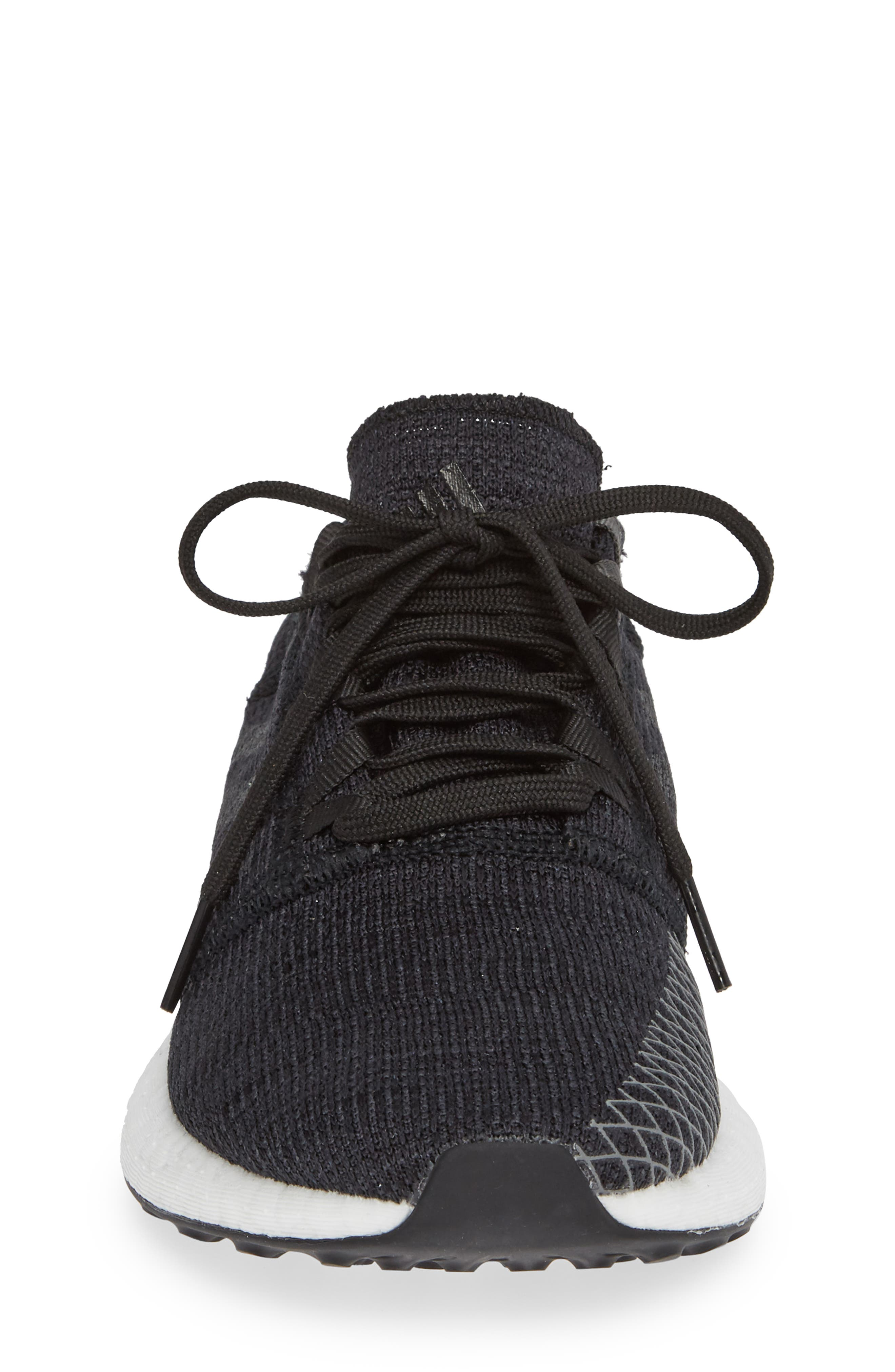 ADIDAS,                             PureBoost GO Running Shoe,                             Alternate thumbnail 4, color,                             001