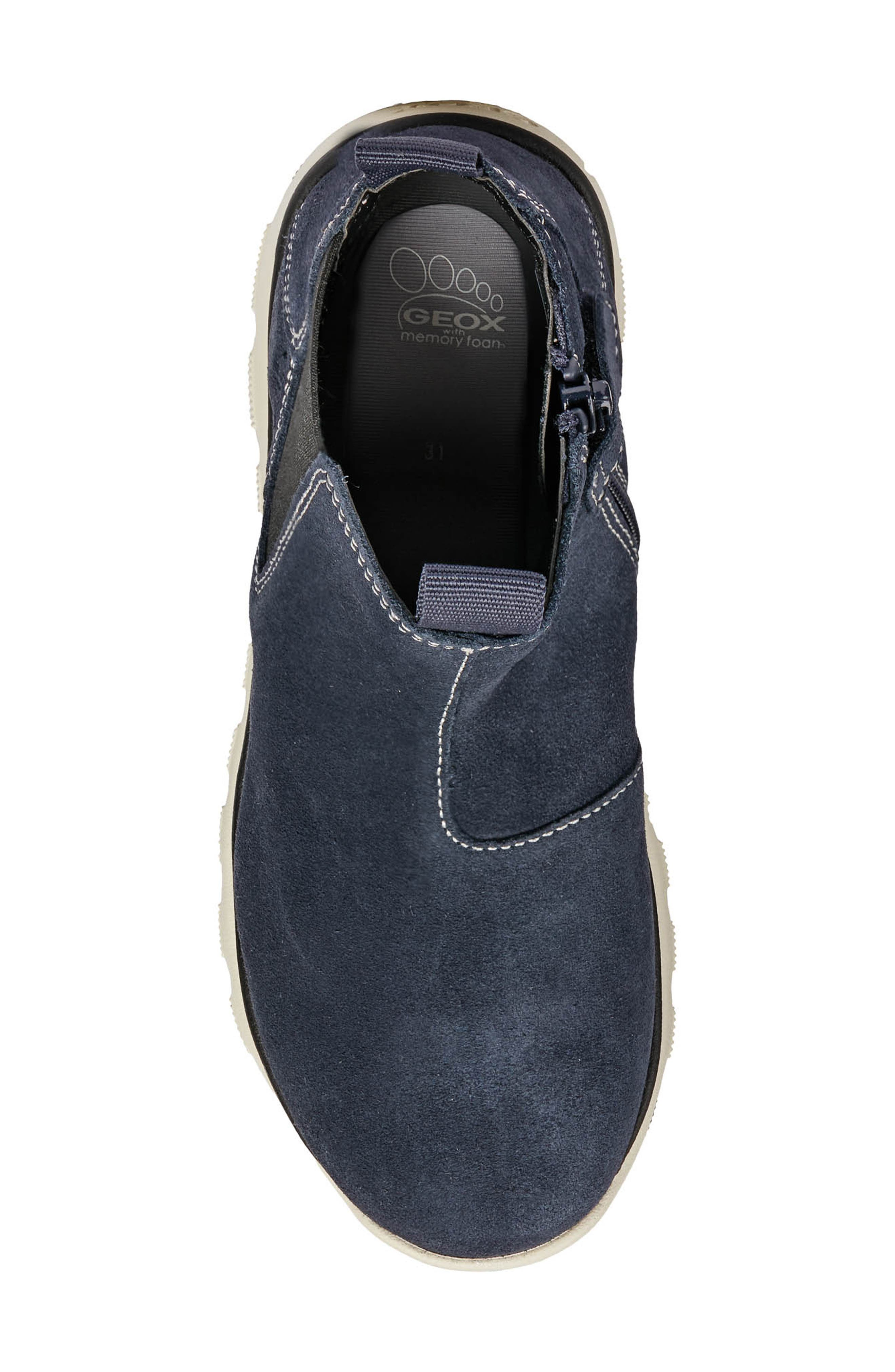 GEOX,                             Xunday Boot,                             Alternate thumbnail 5, color,                             NAVY