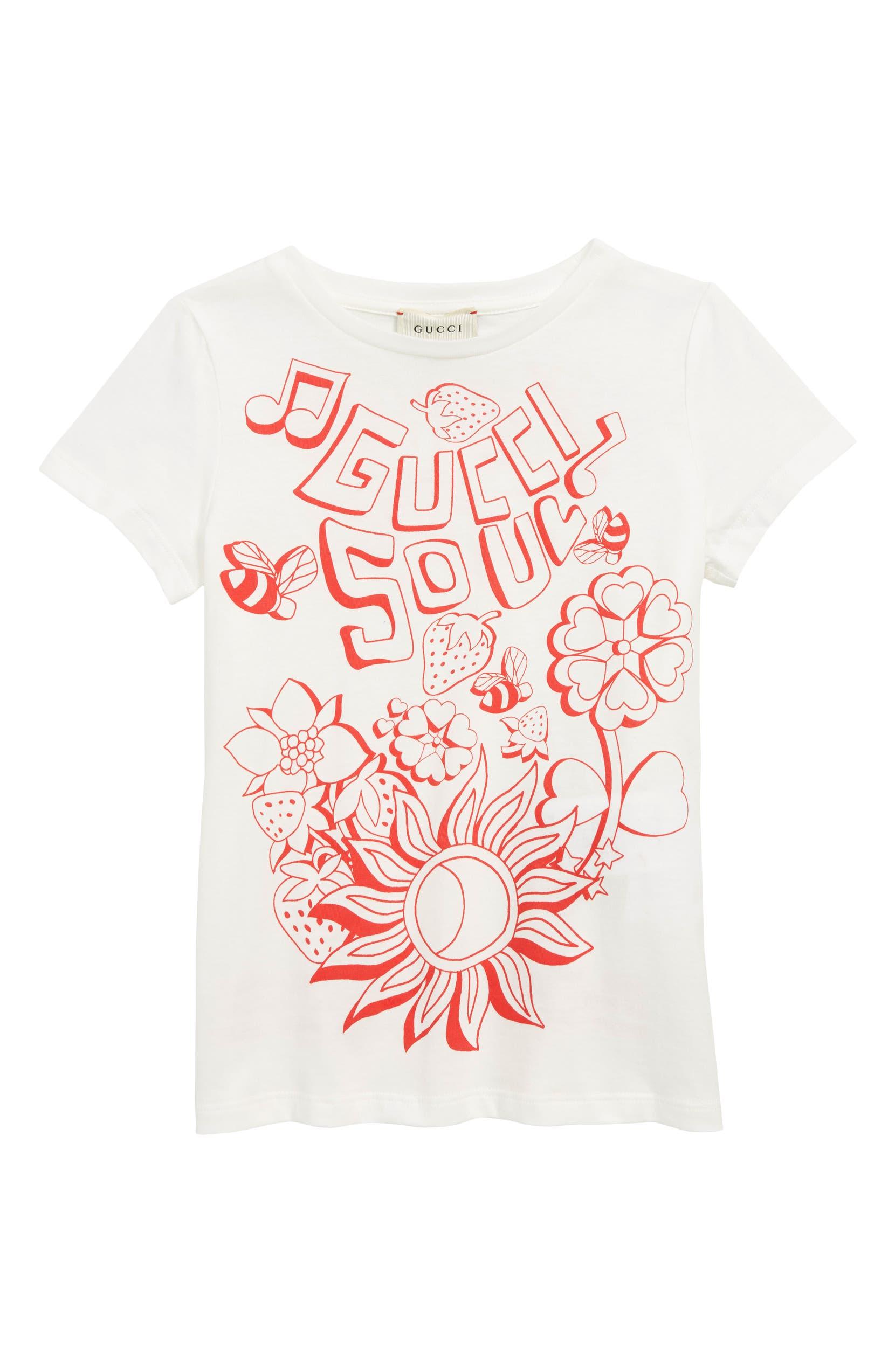 0c0e92c9207 Gucci Graphic Tee (Little Girls   Big Girls)