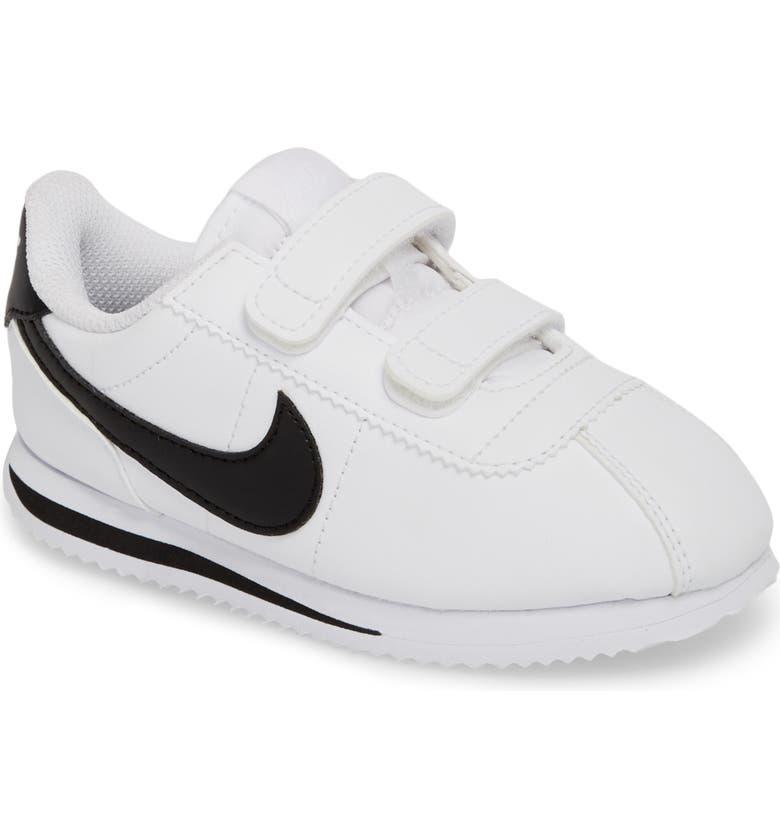 finest selection 519c6 f8774 NIKE Cortez Basic SL Sneaker, Main, color, WHITE  BLACK