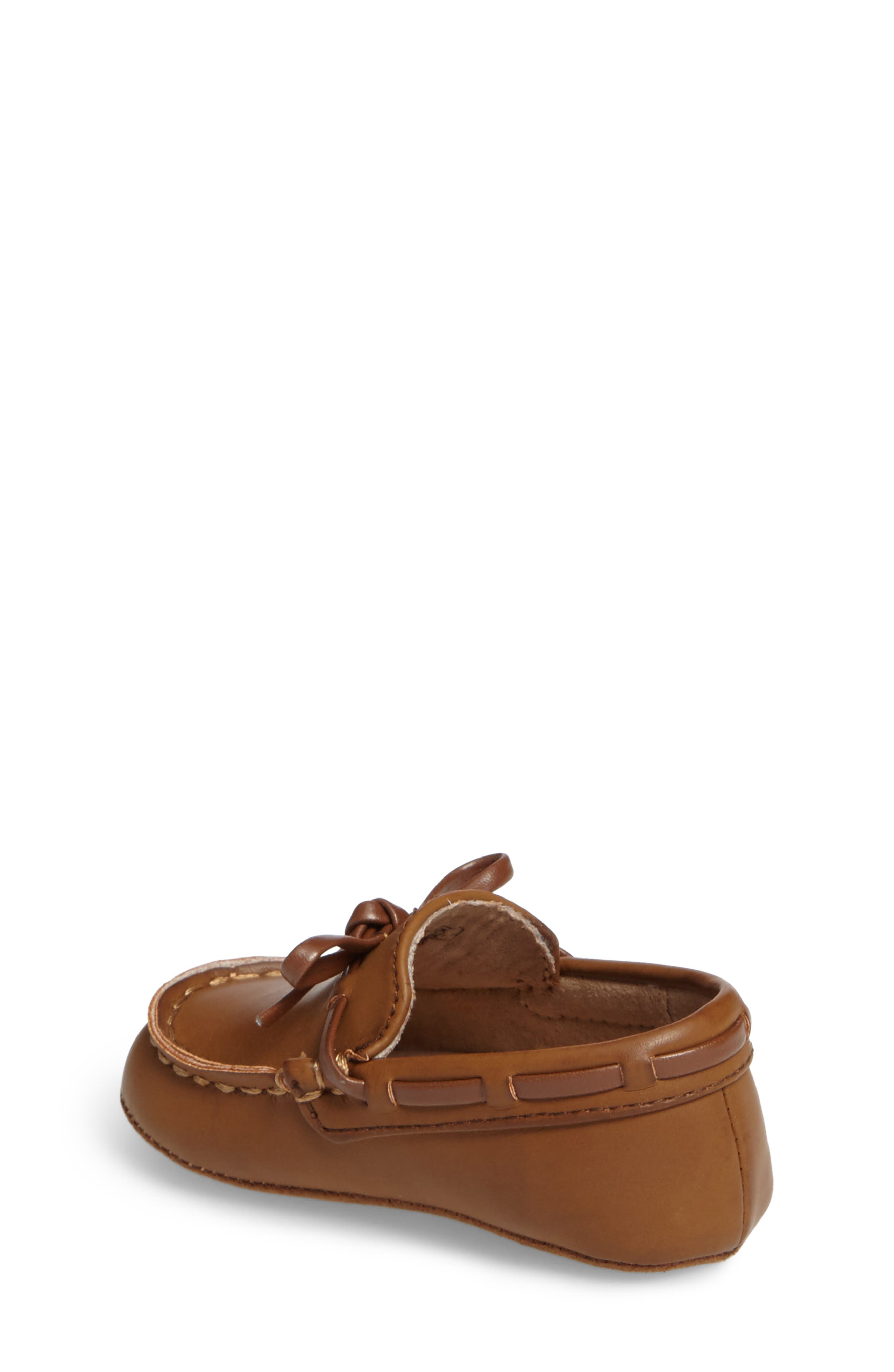 KENNETH COLE NEW YORK,                             Baby Boat Shoe,                             Alternate thumbnail 2, color,                             CARAMEL