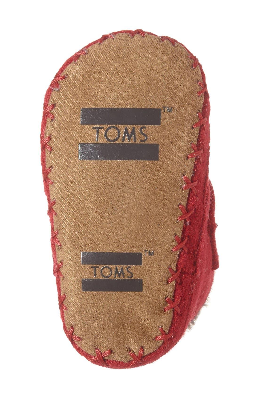 TOMS,                             Cuna Layette Crib Shoe,                             Alternate thumbnail 3, color,                             610